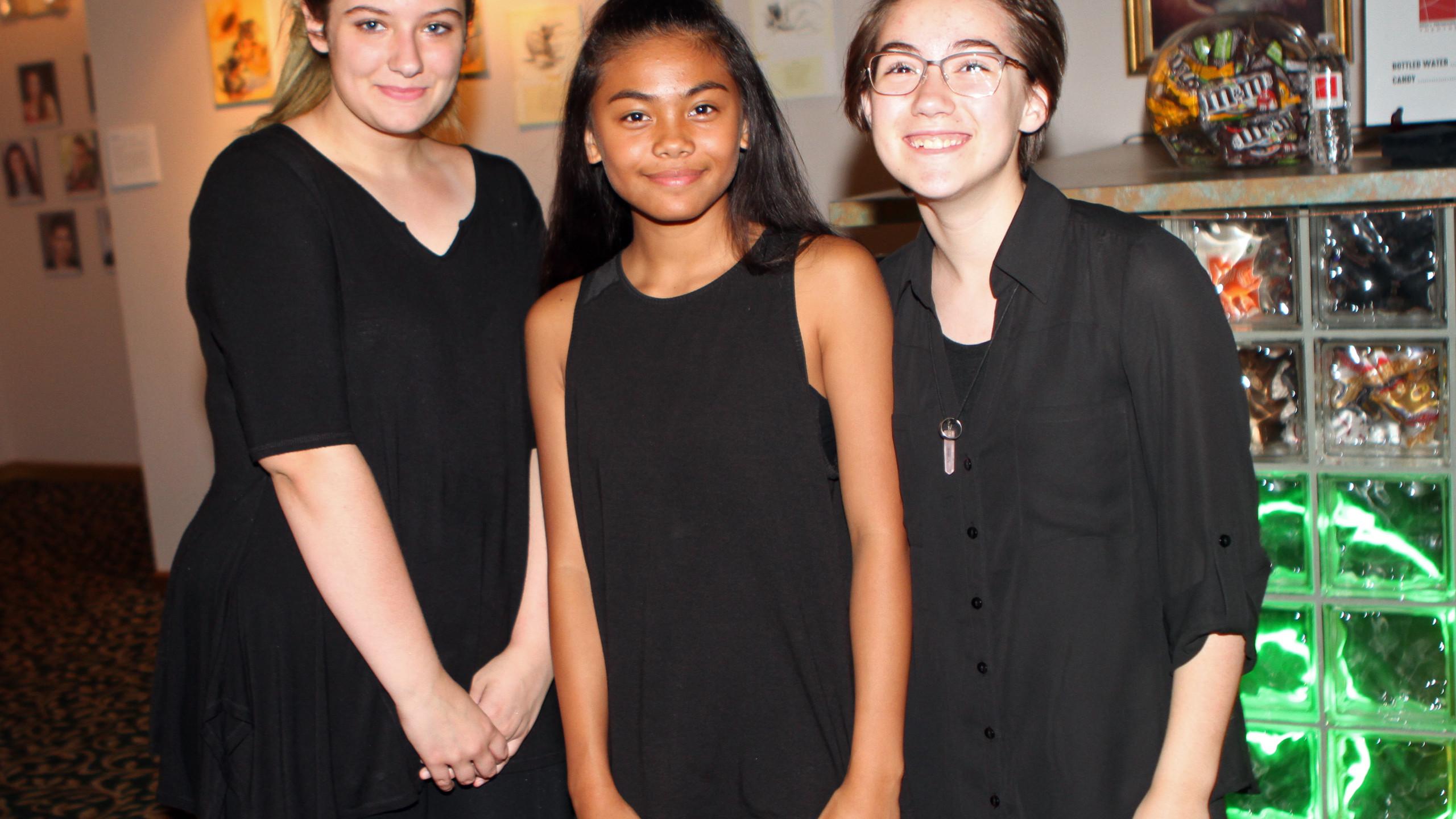Hayden Gilbrath, Sylvia Mendiola, Katie