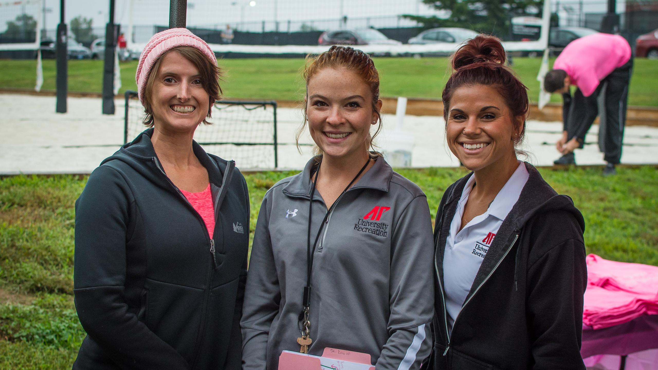 Lauren Wilkinson, Sarah Speckhart, and J