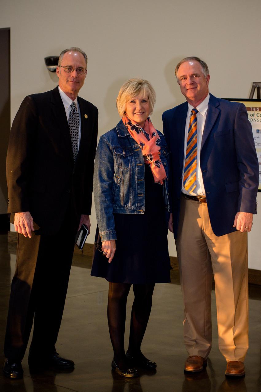 Bill Harpel, Melinda Shepard, and Allan Groves