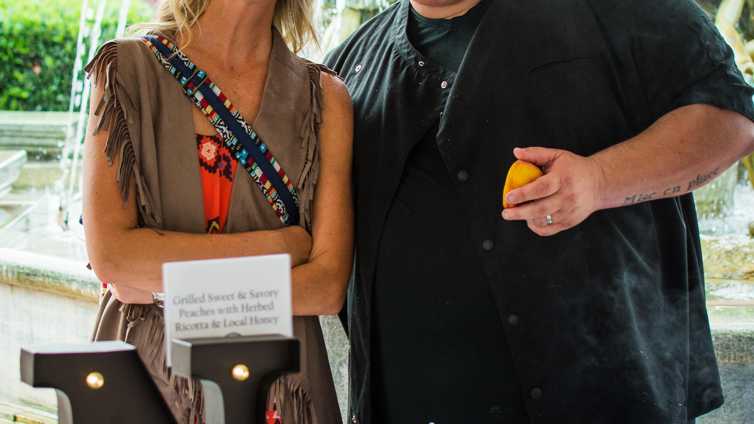 Jackie Chambers and Nicholas Nicoletta