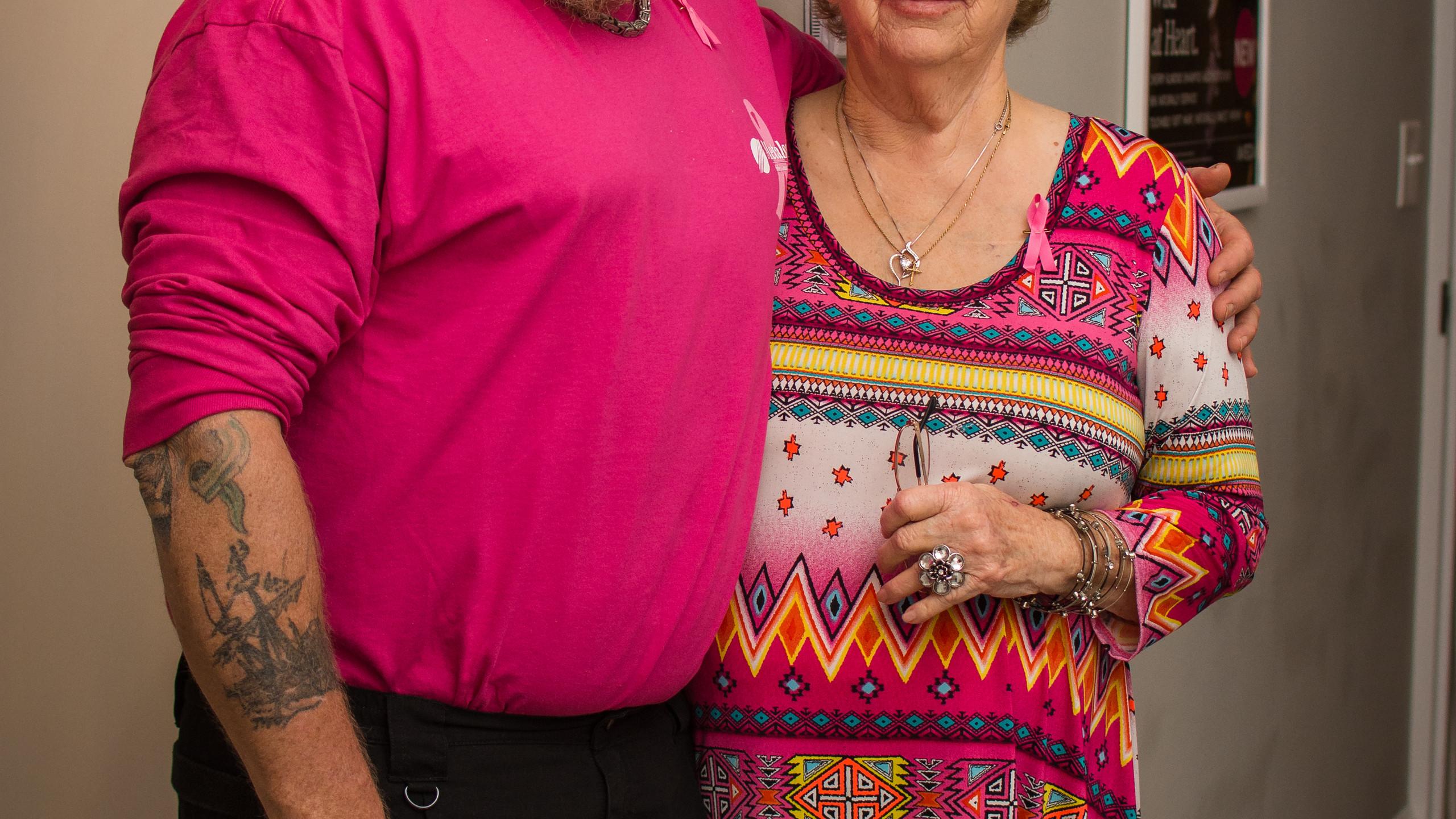 Bobby ethridge and Nelta Yeager
