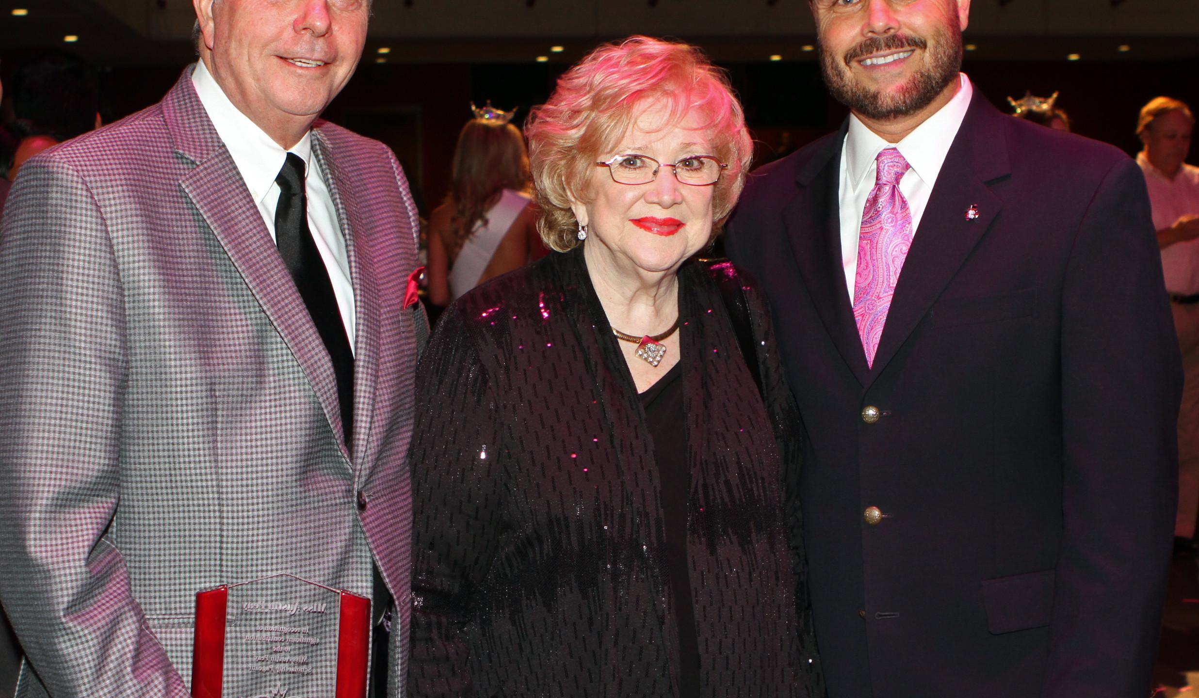 Fred Landis, Marilyn Hand, Victor Felts.