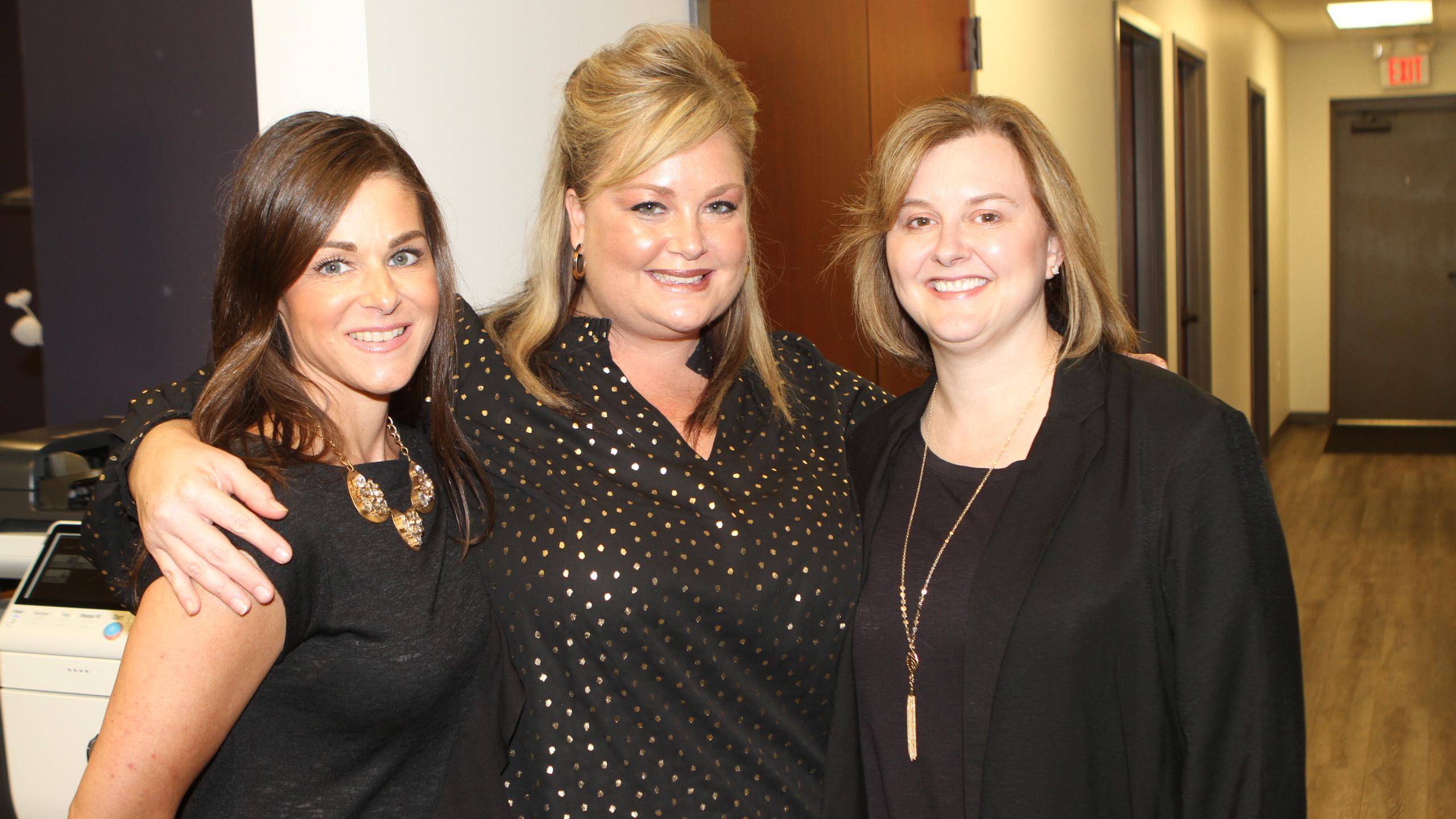 Krissy Stewart, Mandy May, Lisia Woods