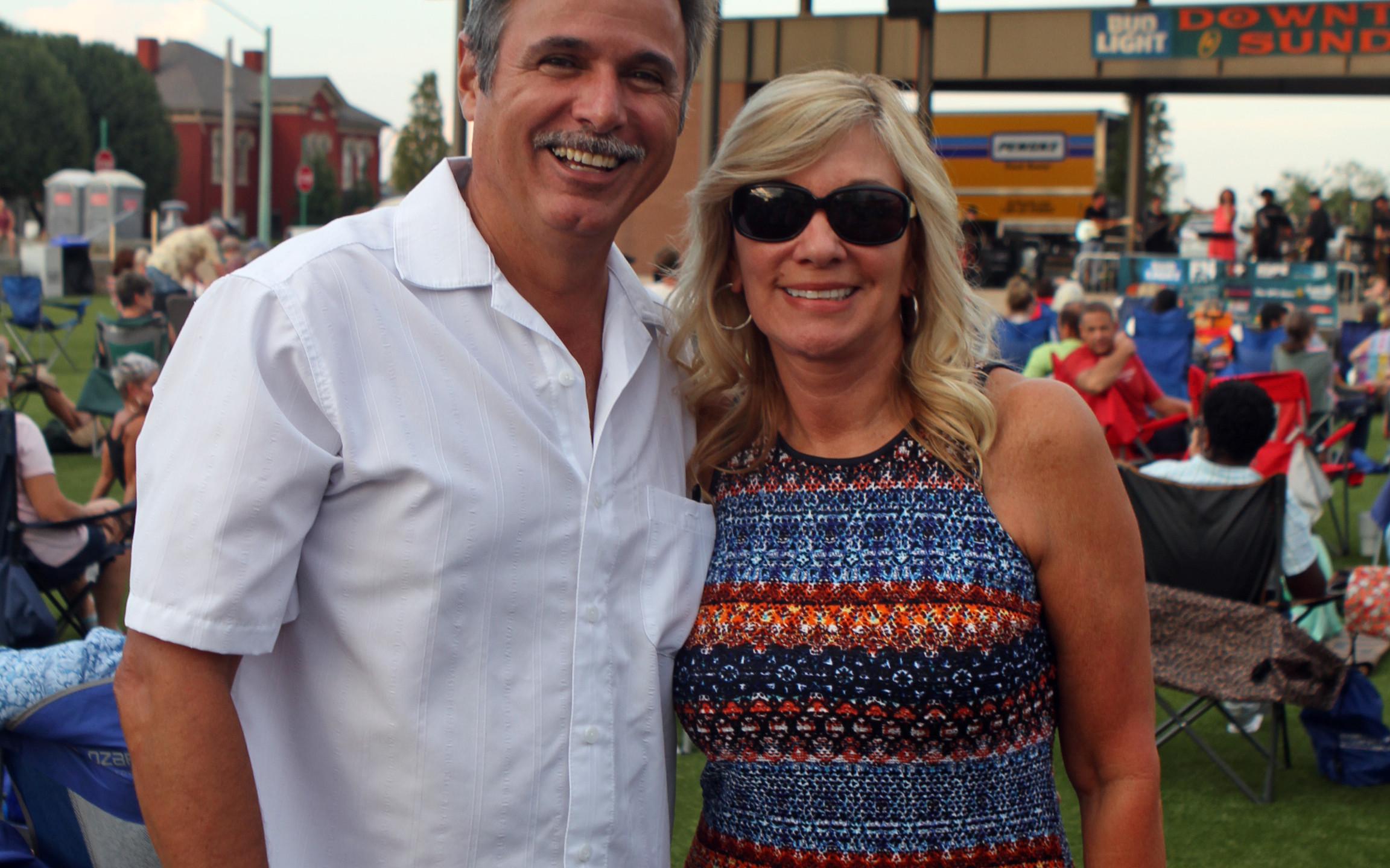 Mark Huerta, Kathy Gray