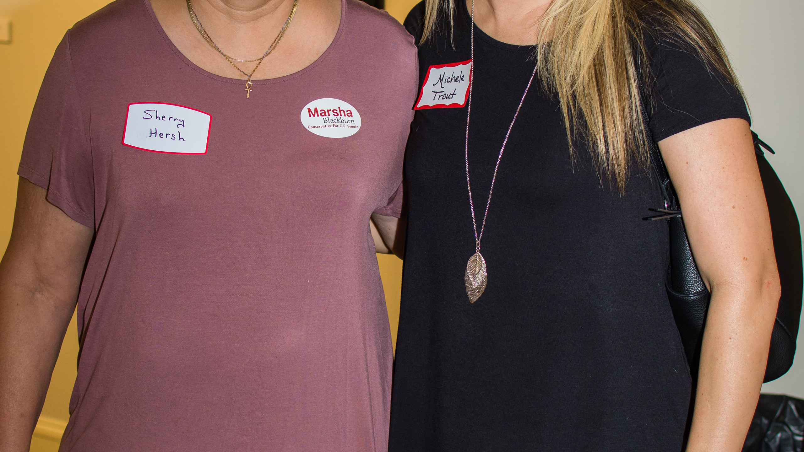 Sherry Hersh and Michele Trout