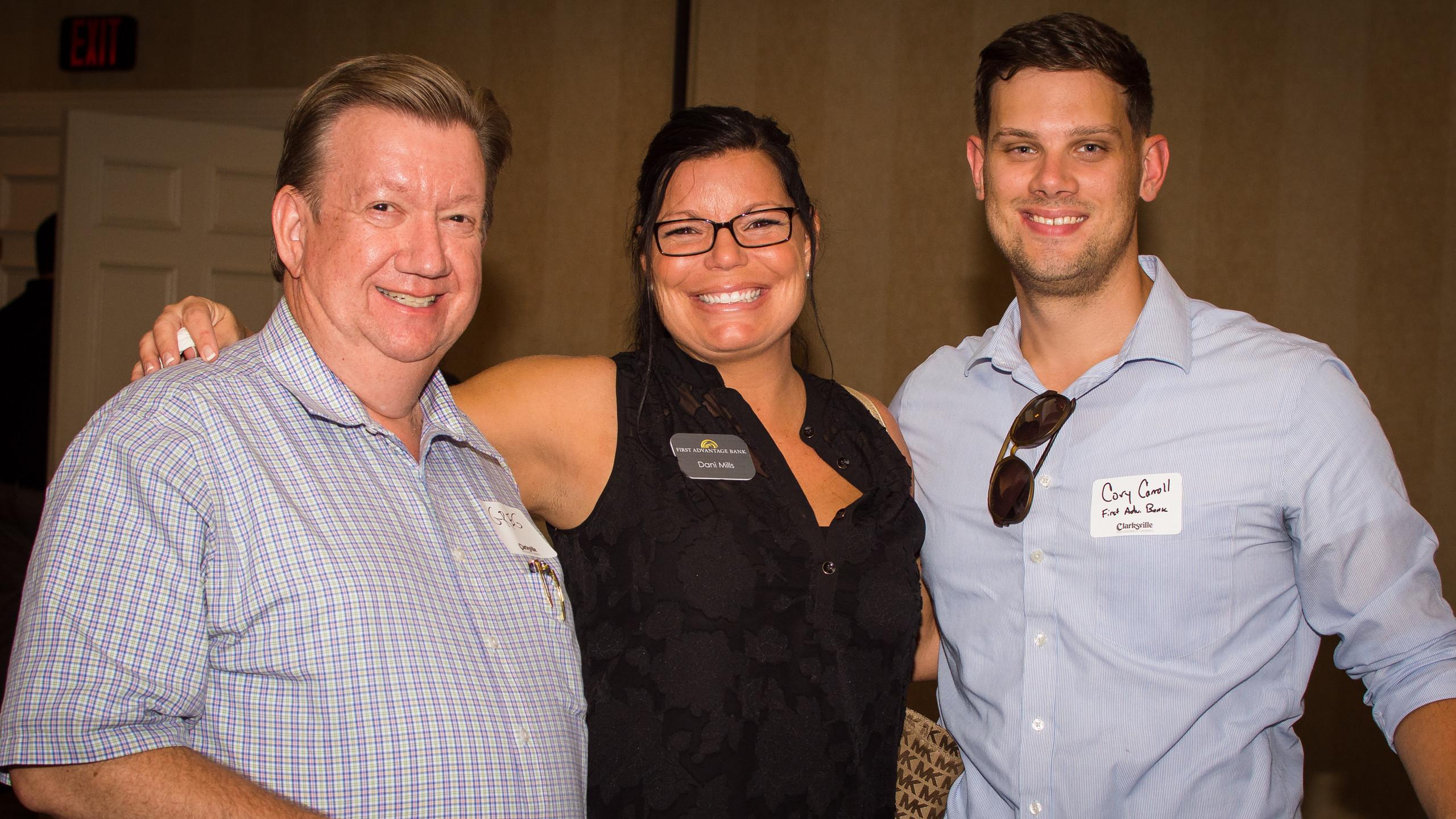 Greg Smith, Dani Mills, and Cory Carroll