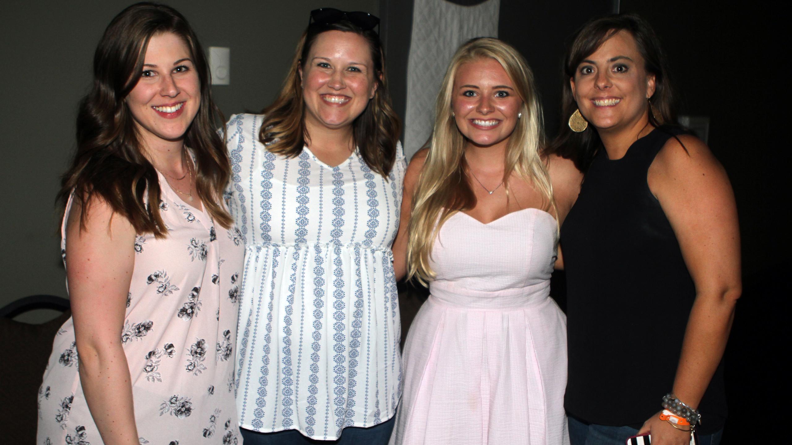 Kelsey Healey, Anne Rawlins, Savannah Ja