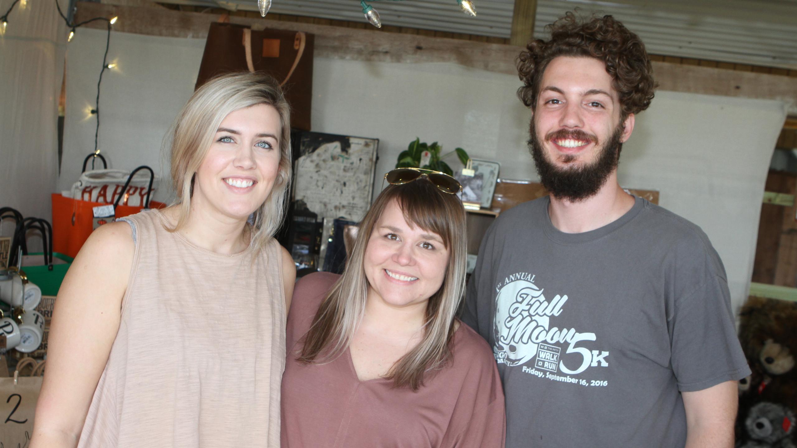 Taylor Peterson, Allison Hill, Denver Ha