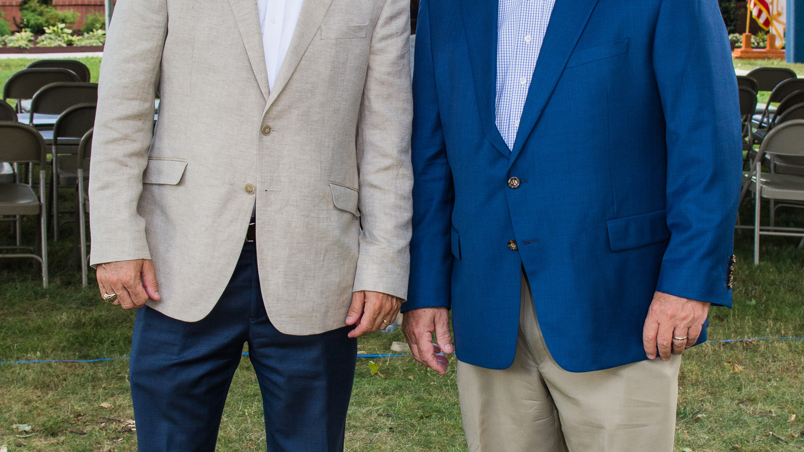 Charlie Koon and Sammy Stuard
