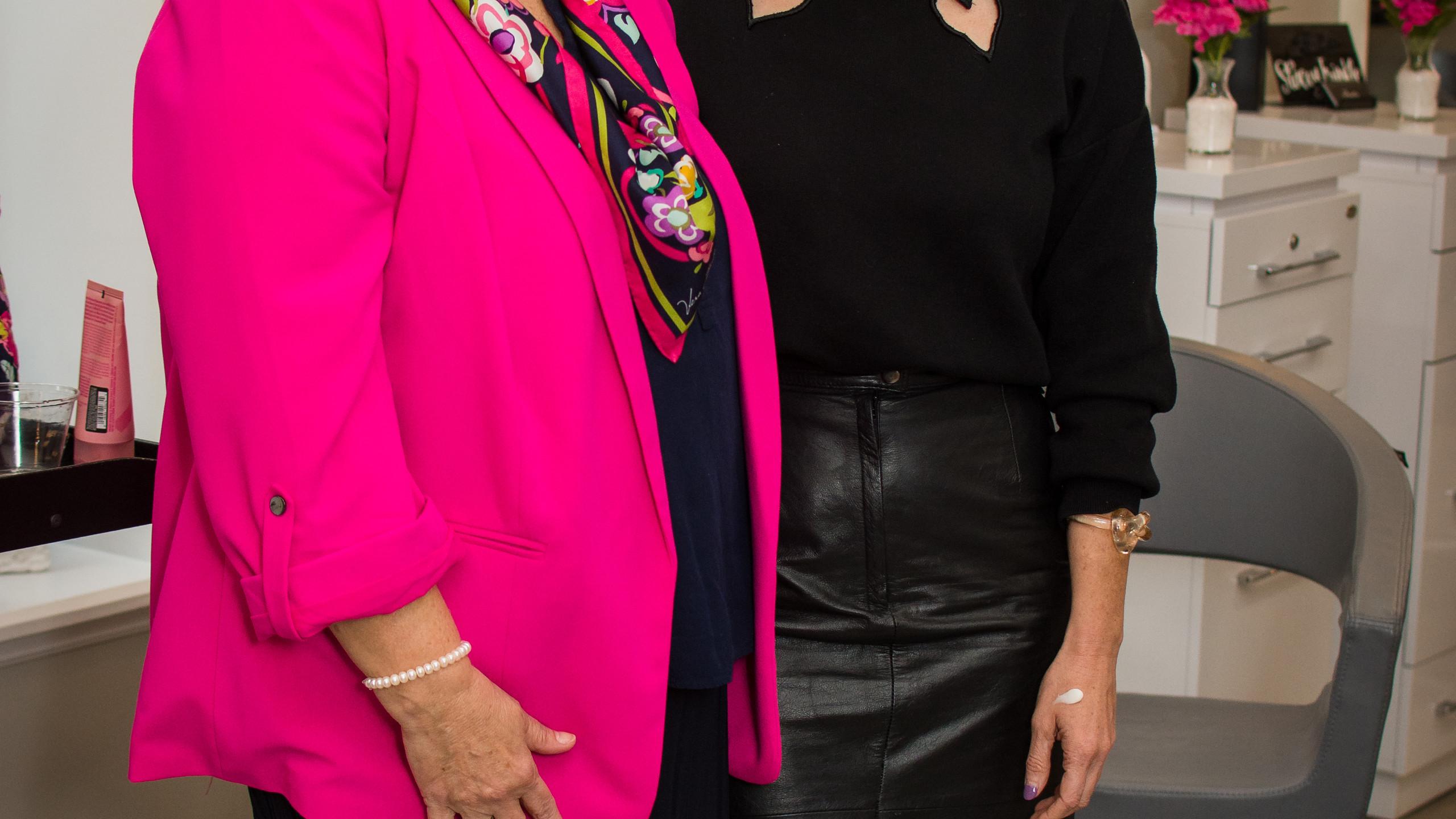 Brenda Watts and Patti Bankston