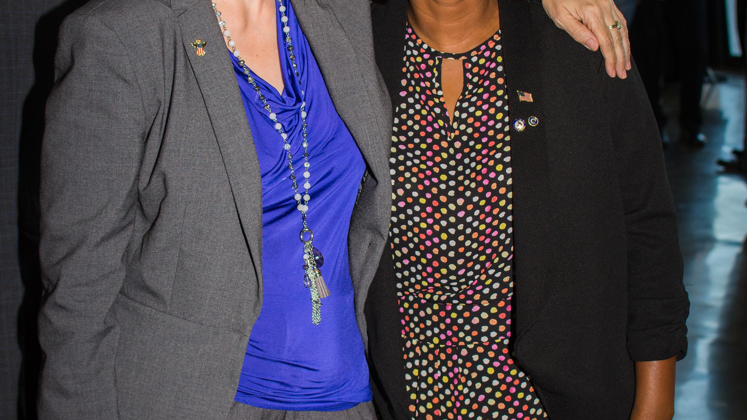Cindy Summers and Corinthia Elder
