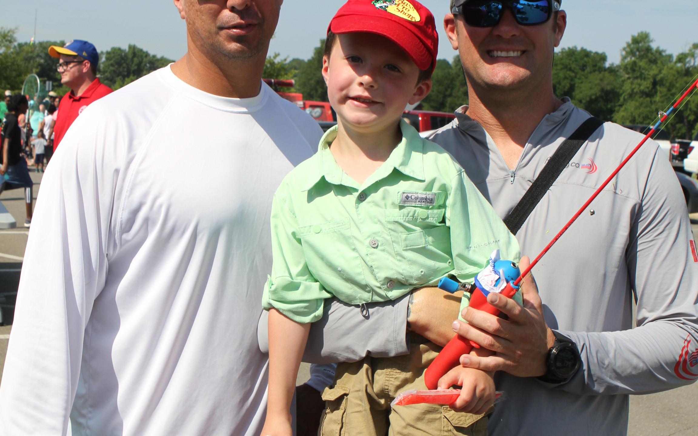 Dale Schofield, Ayden & Dwayne Hawkins