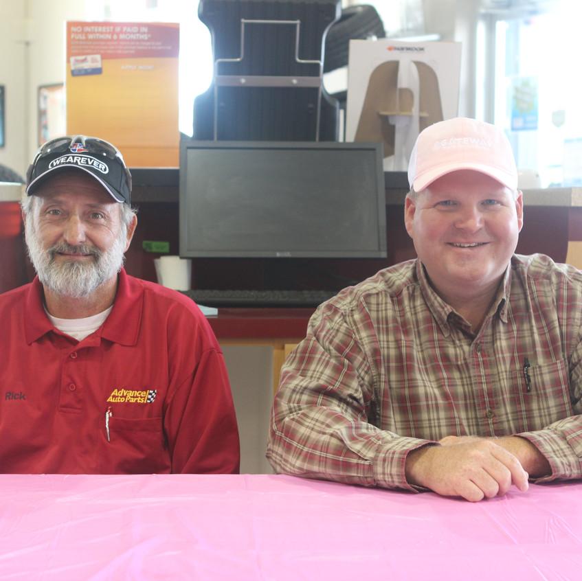 Rick Evans and Chris Travis
