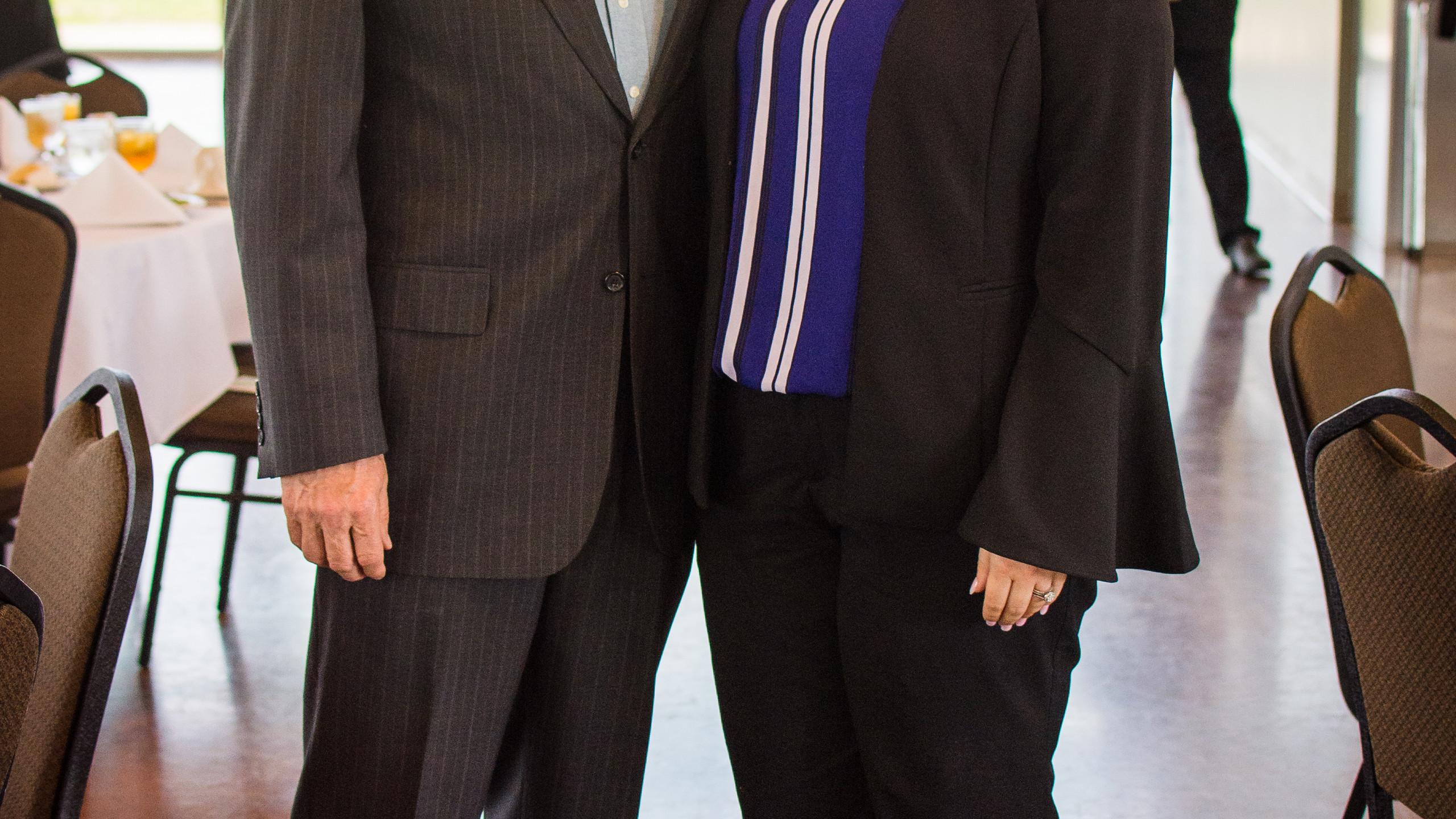 Ron Lanfear and Katy Hagstrom