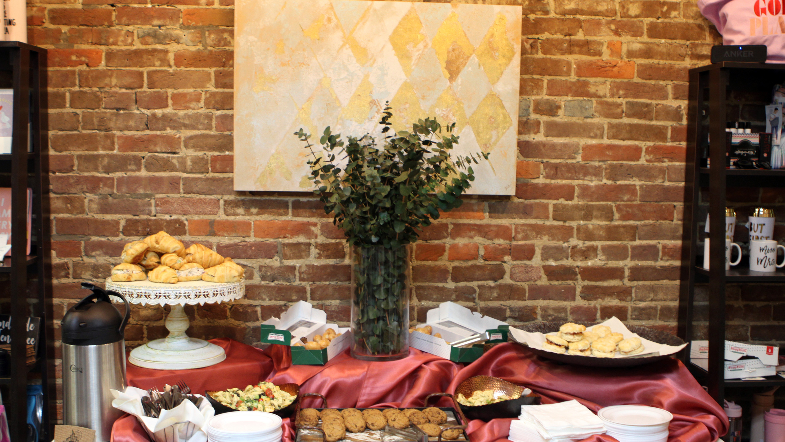Nicoletta's Catering handled the culinar