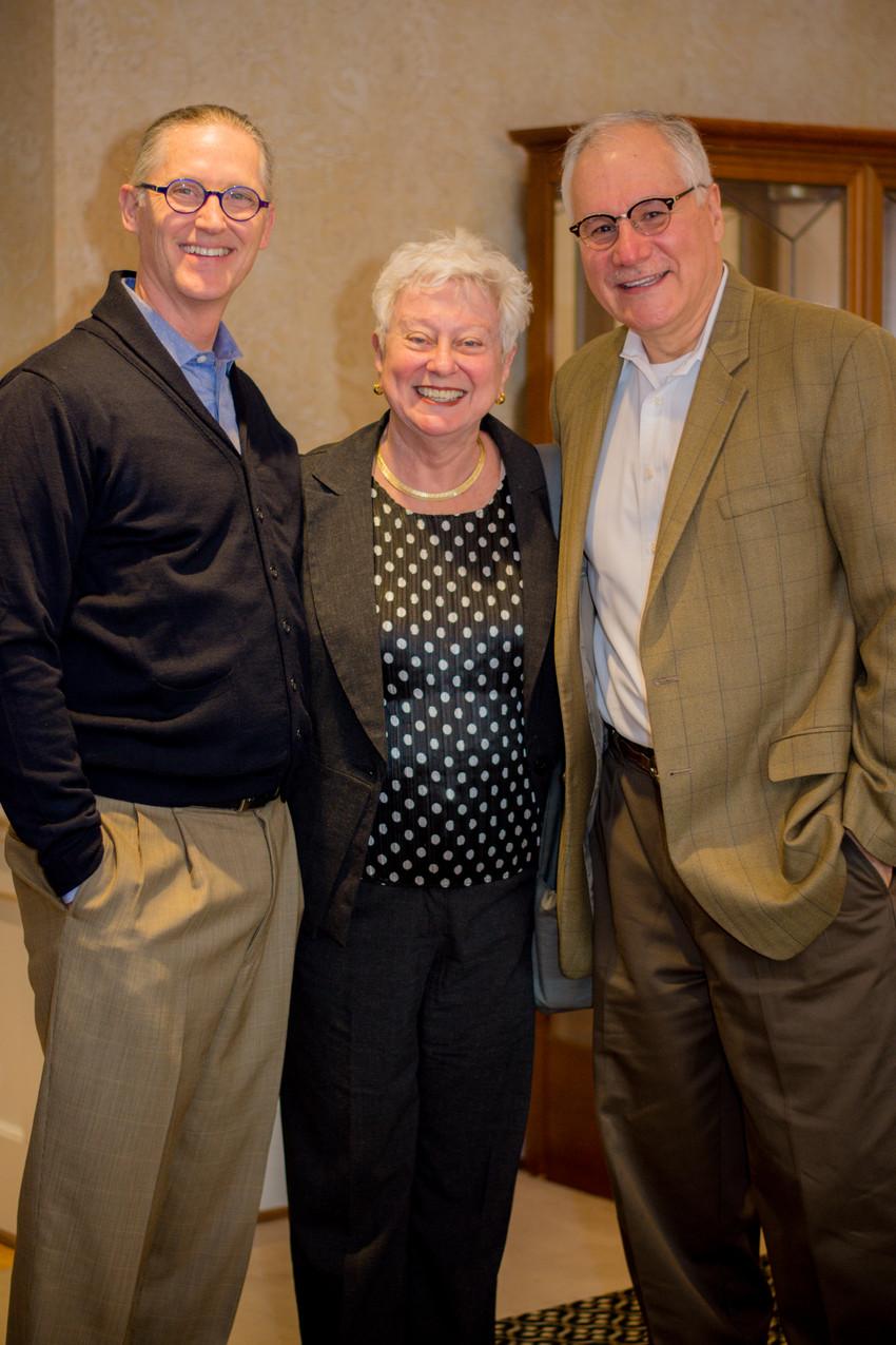 Steven Walker, Leah Foote, and J.B. Gallegos Jr
