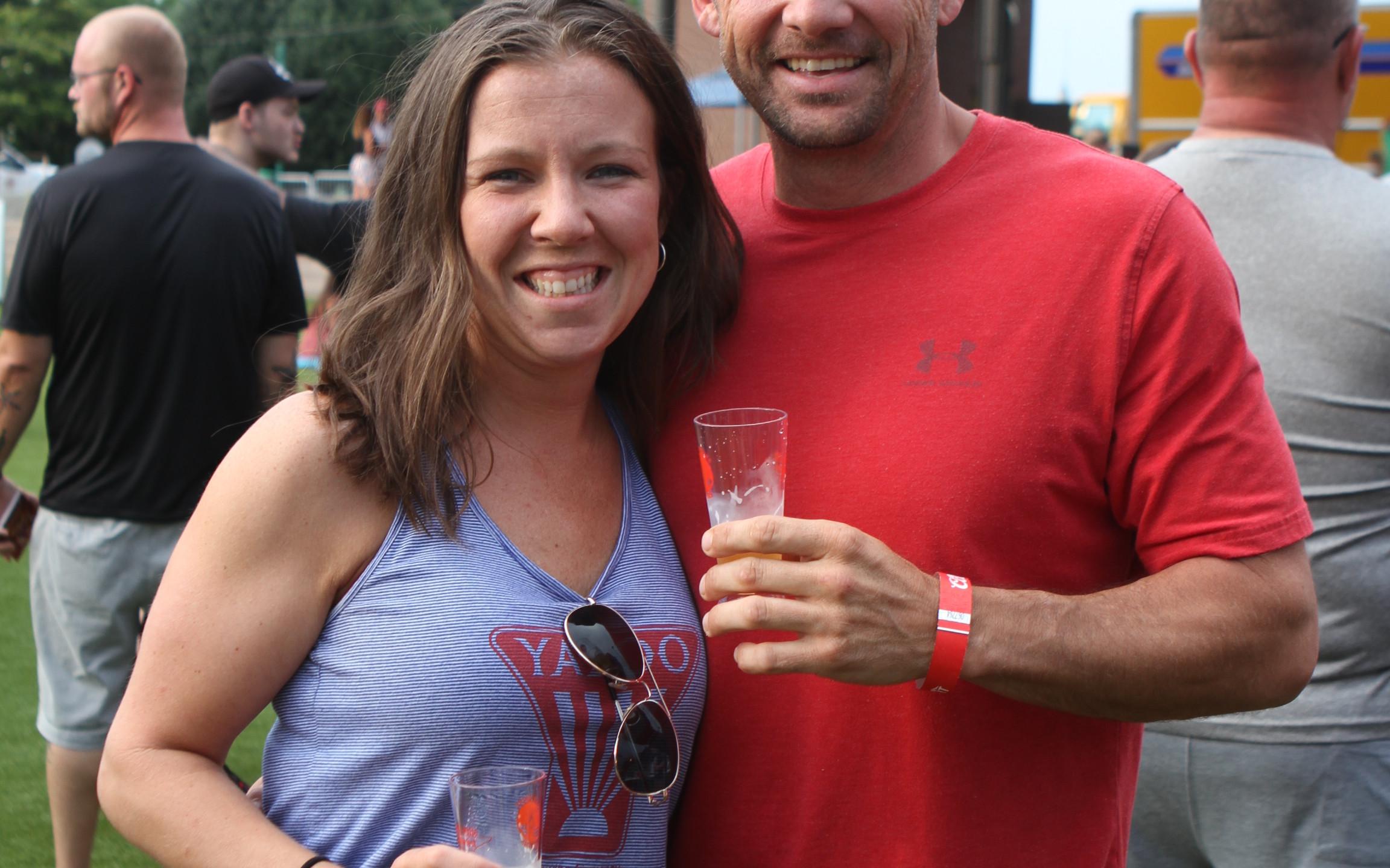 Amanda Crumb and David Moscarello