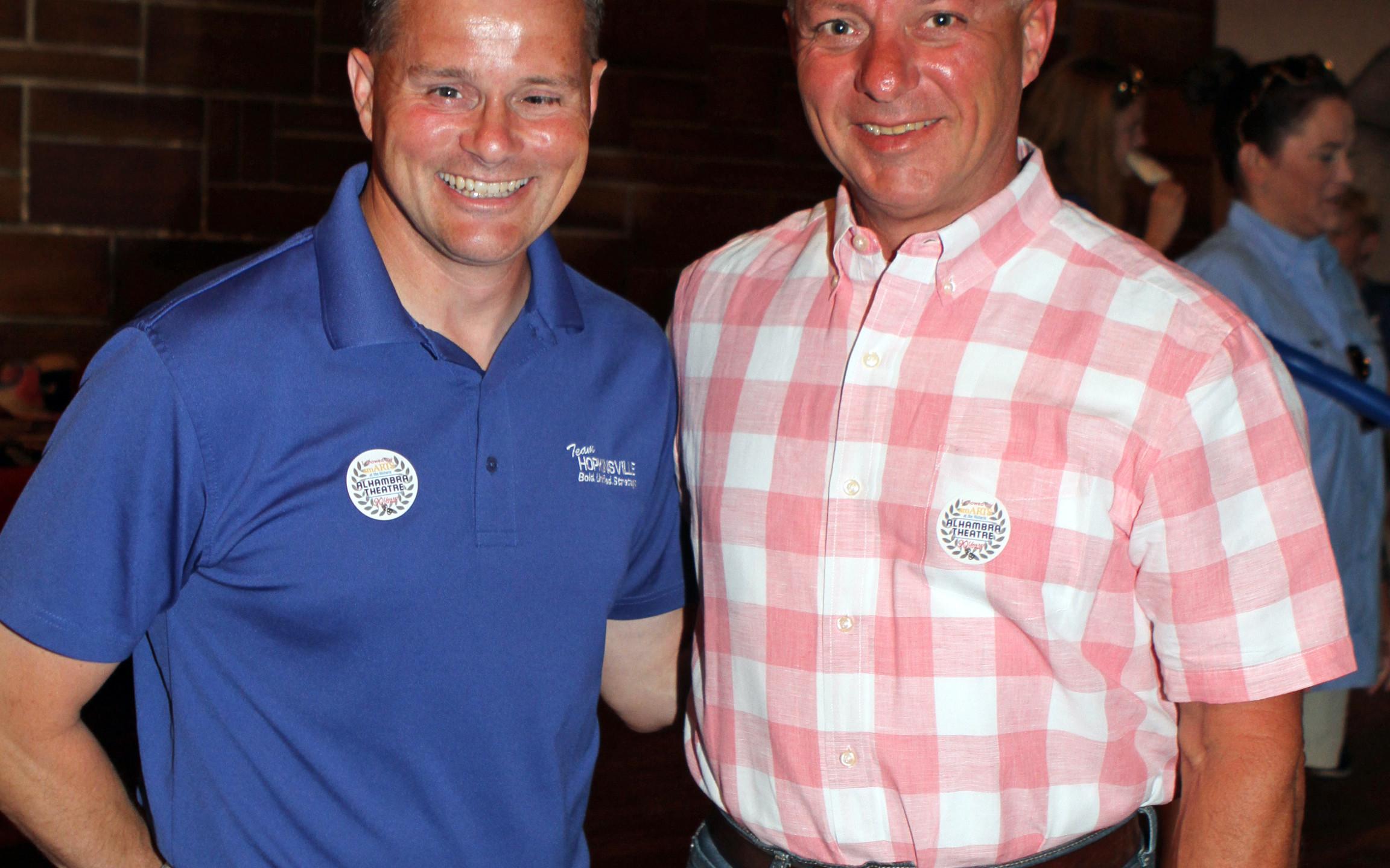 Mayor Carter Hendricks, Kahle Morris Jr.