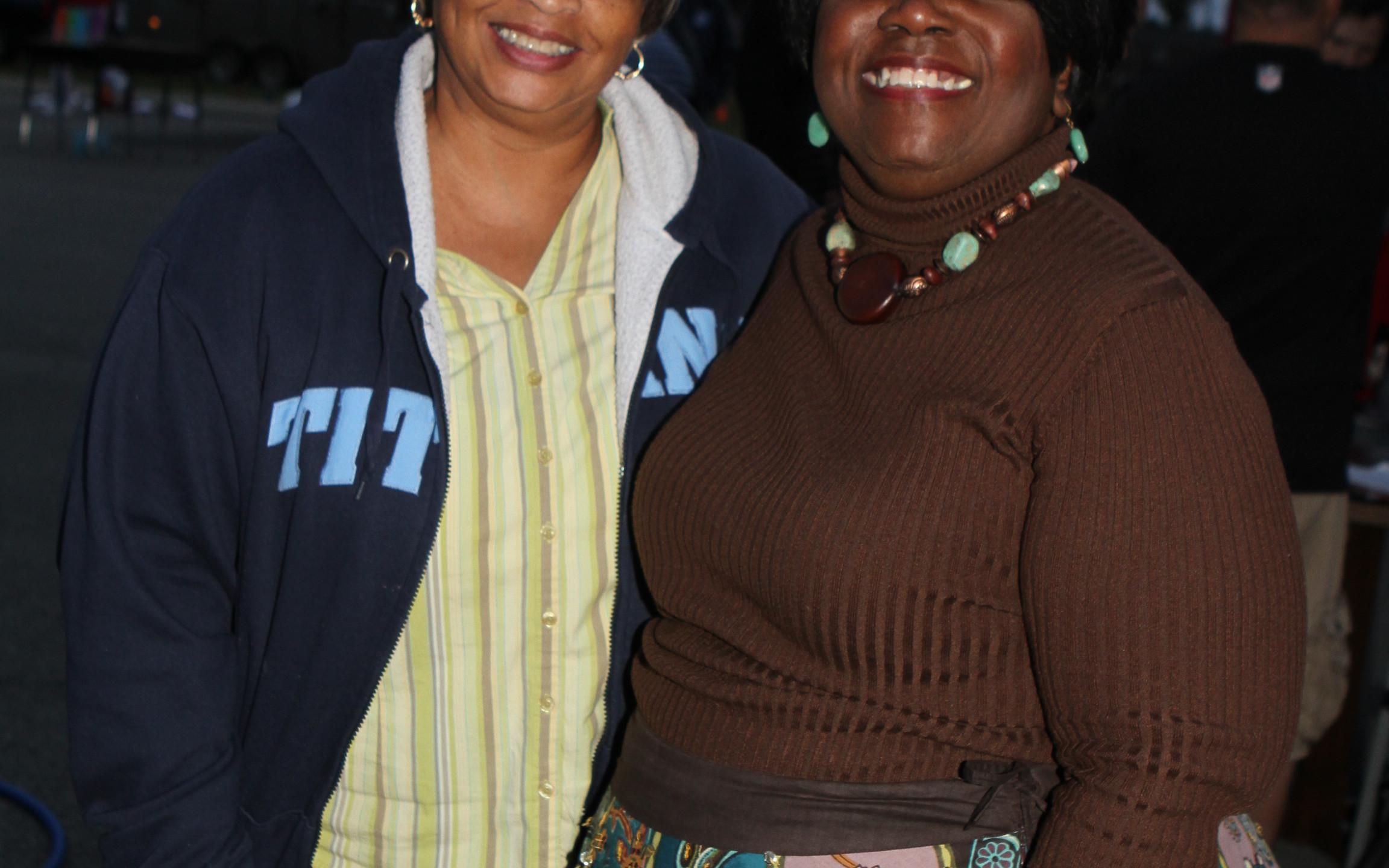 Joyce Bradley, Principal Patricia Miller