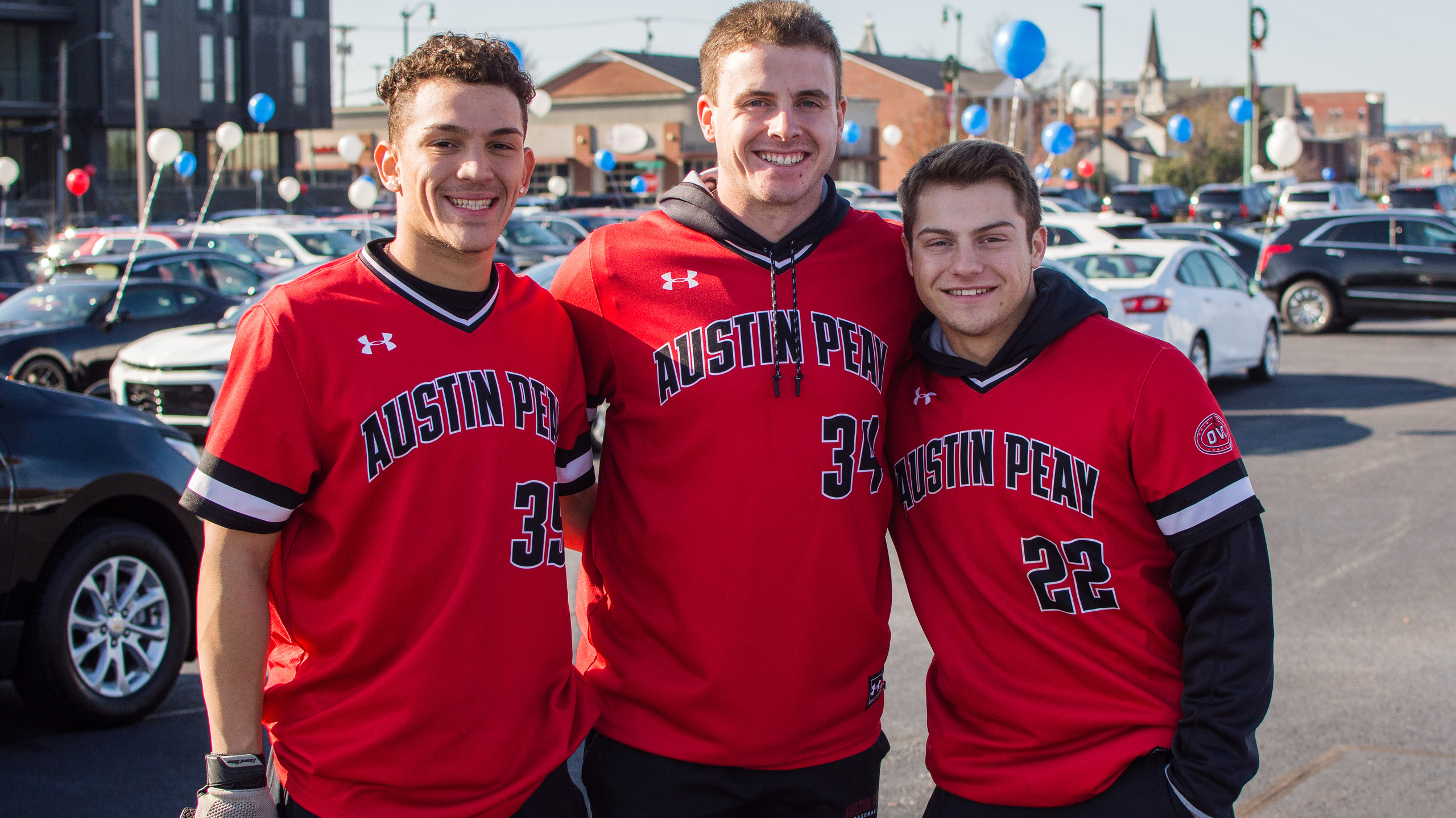 Matther Joslin, Noah Ludy, and Gino Auro