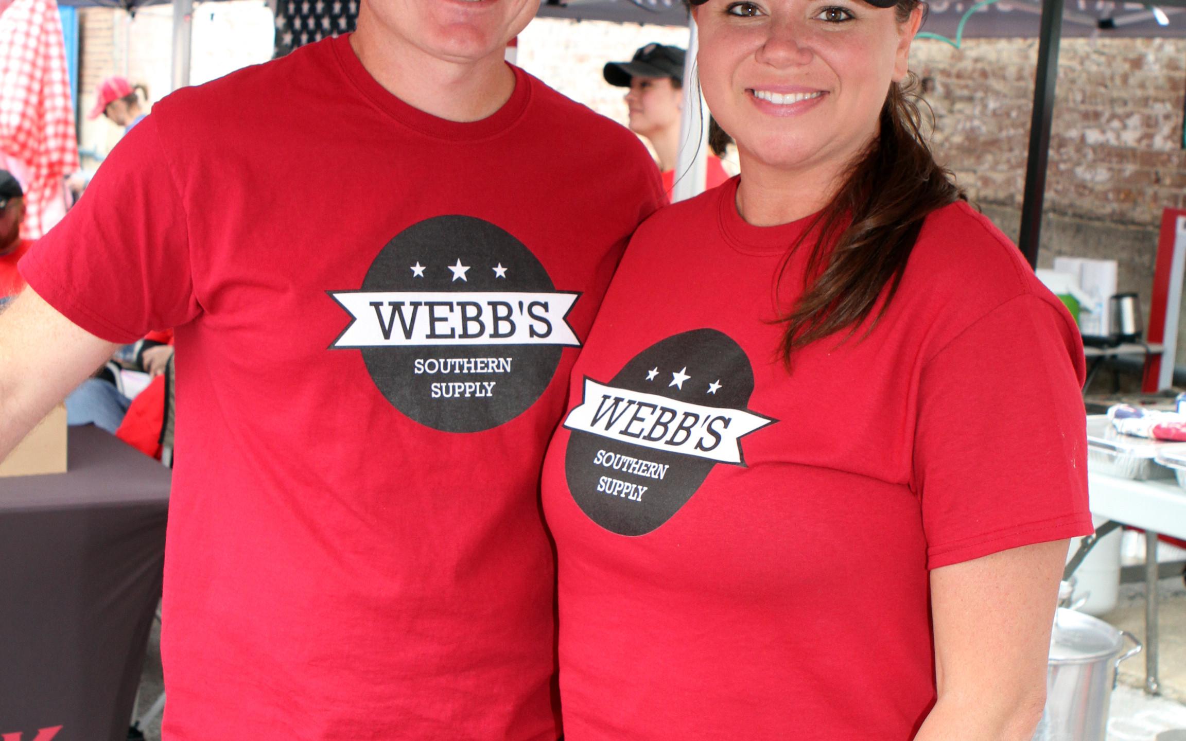 Brian & Amanda Webb