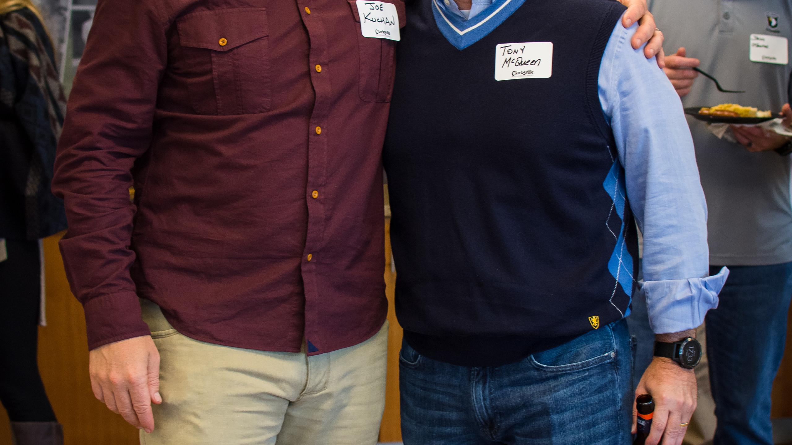 Colonel Joe Kuchan and Tony McQueen