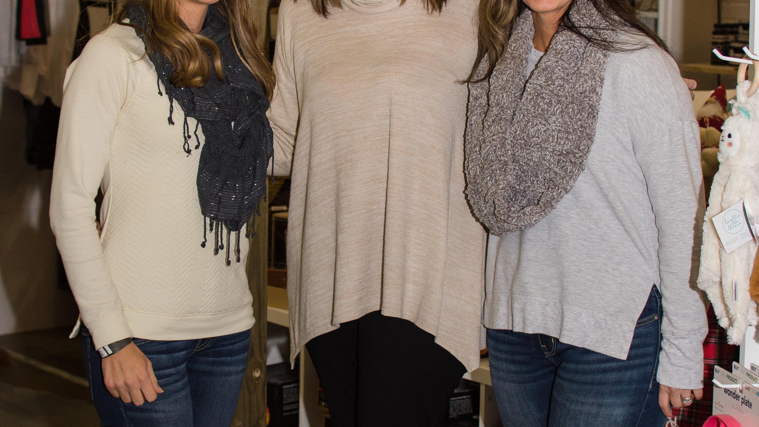 Ashley Plummill, Catherine Meeks,  and B