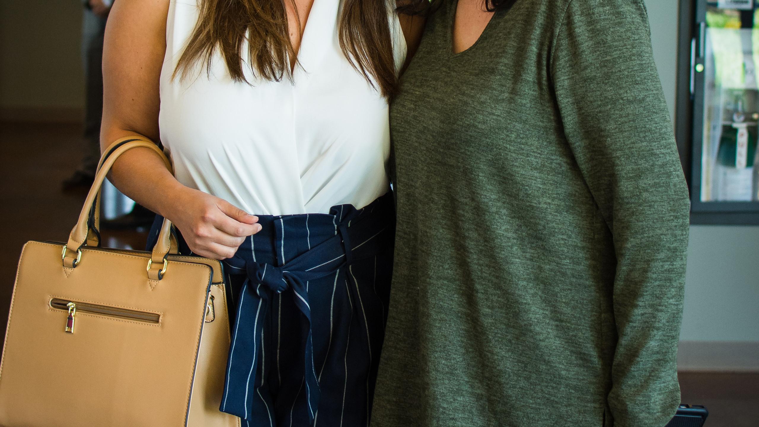 Jessica Shawlarcon and Rachel Bull
