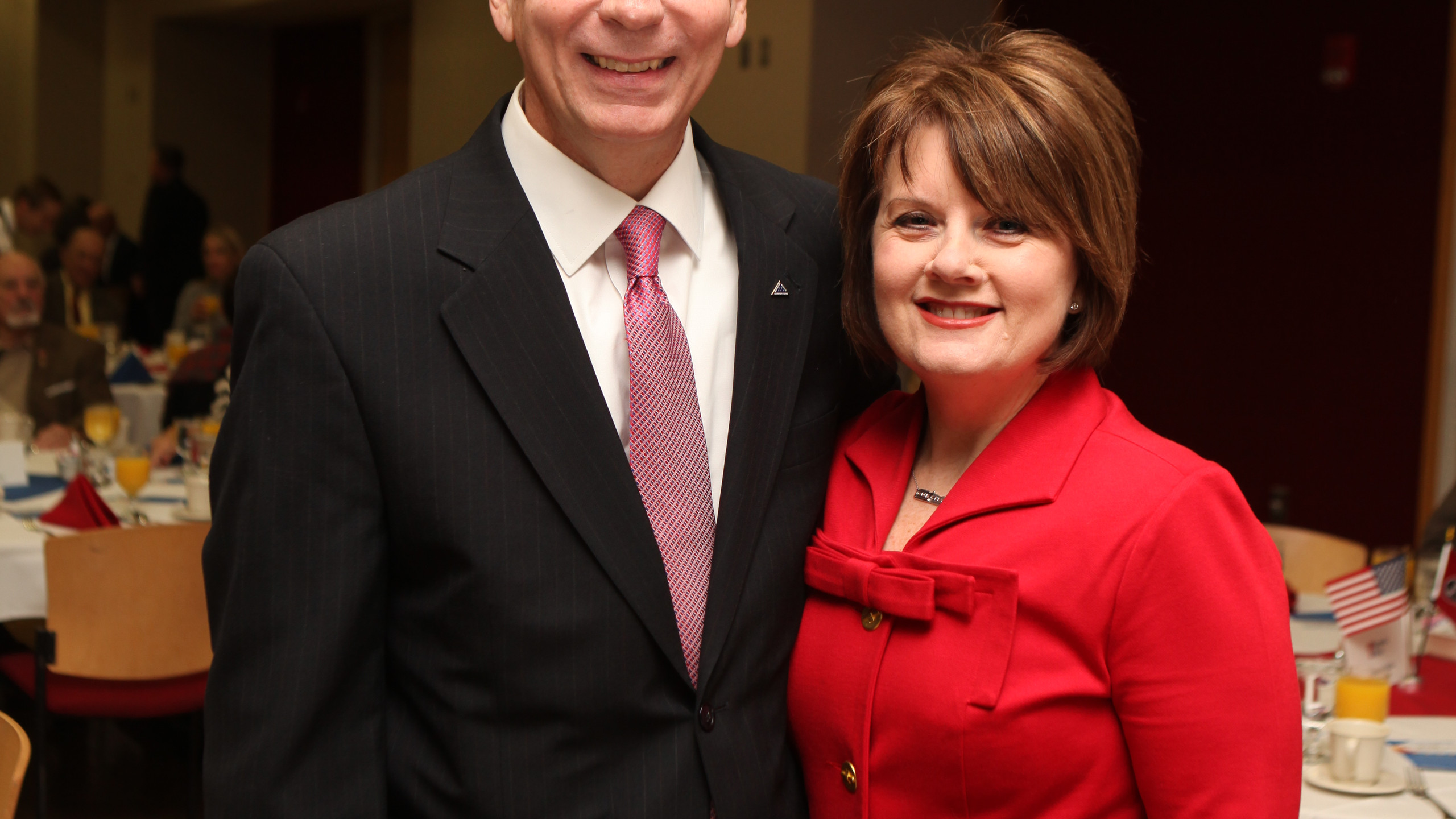 Clarksville Mayor-Elect Joe Pitts & Cind