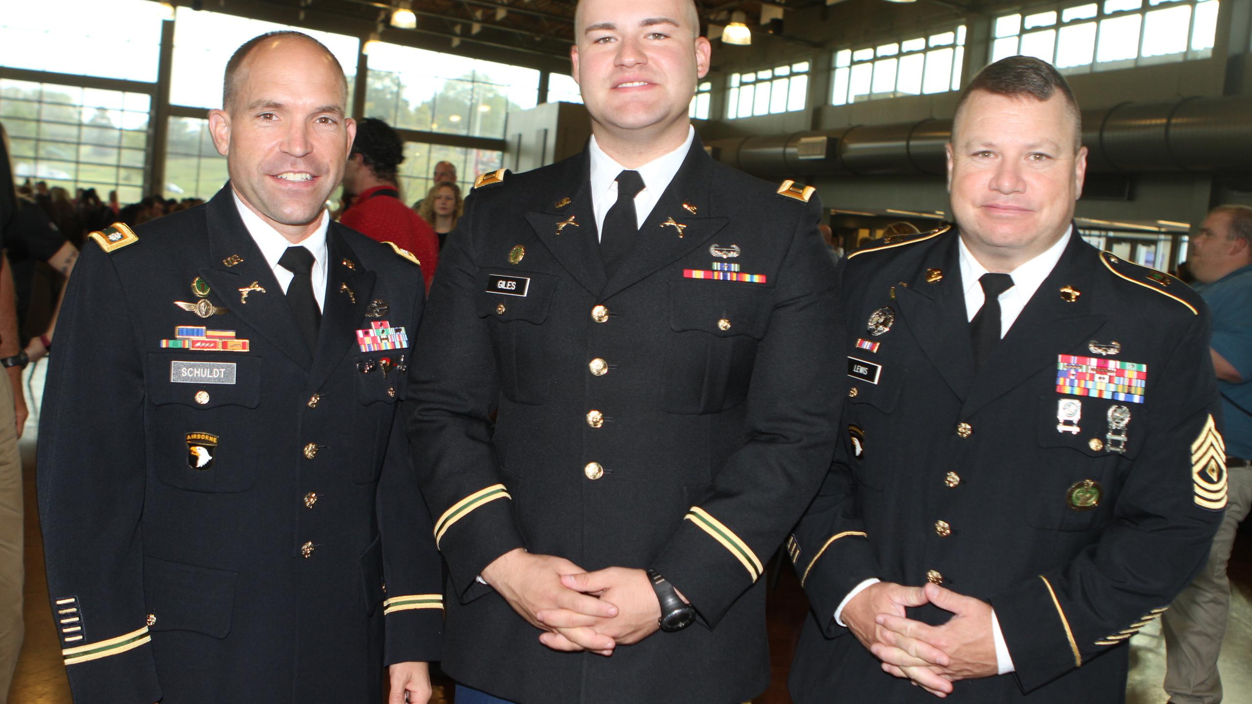 Lt. Col. Joel Schuldt, 2nd Lt