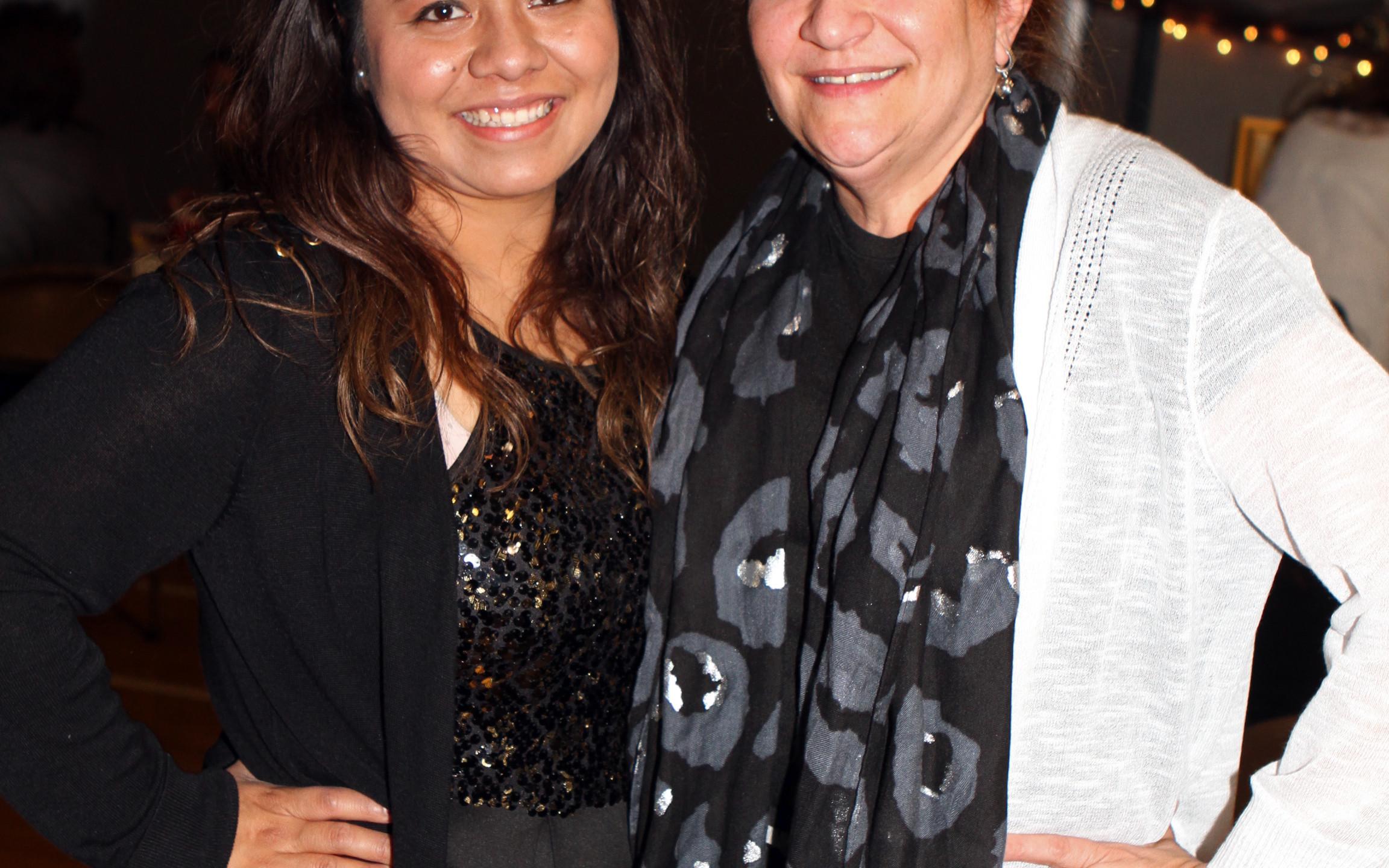 Cynthia Angeles, Elizabeth Ramos