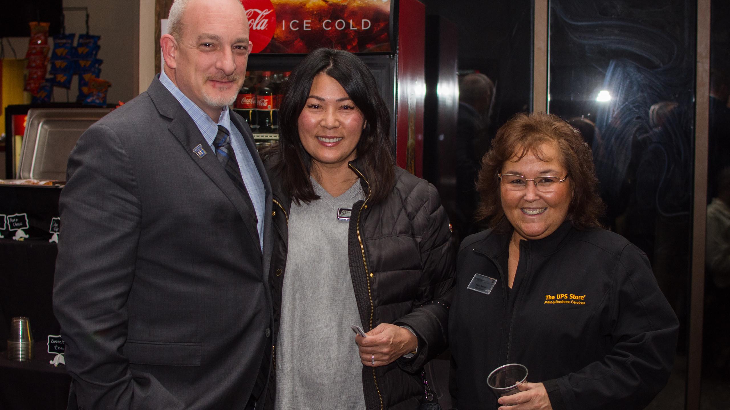 Randy Whetsell, Sue Whetsell, and Cathy