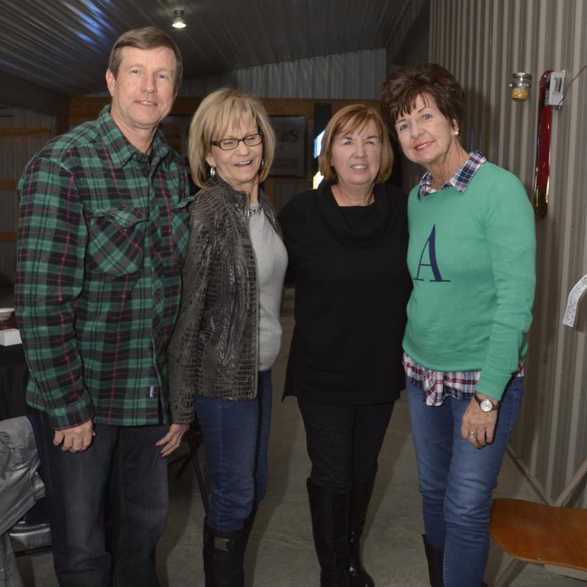 5 Kenny Mitchell, Mary Mitchell, Karen Walters, Regina Adler