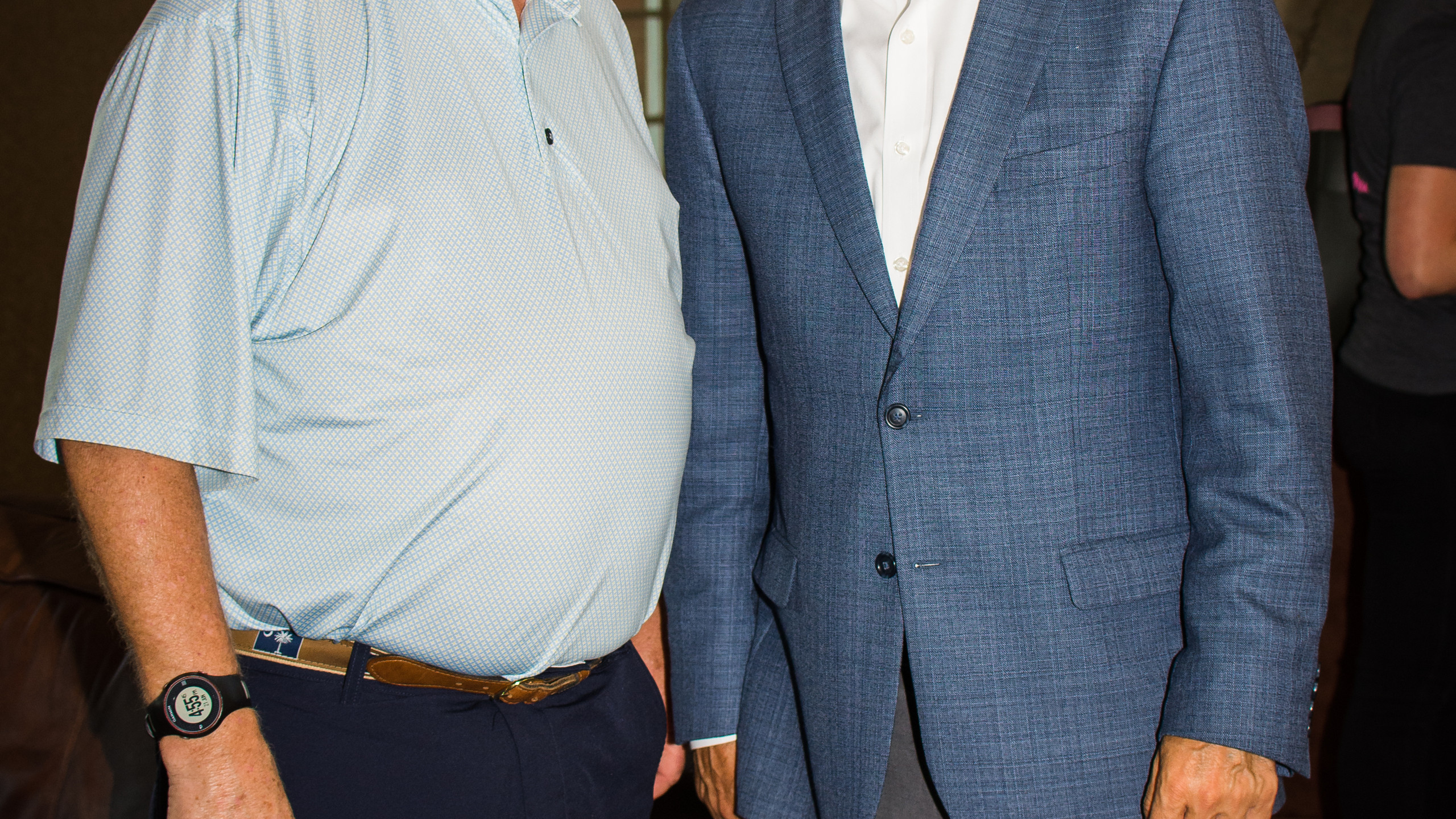 Cecil Morgan and Charlie Koon