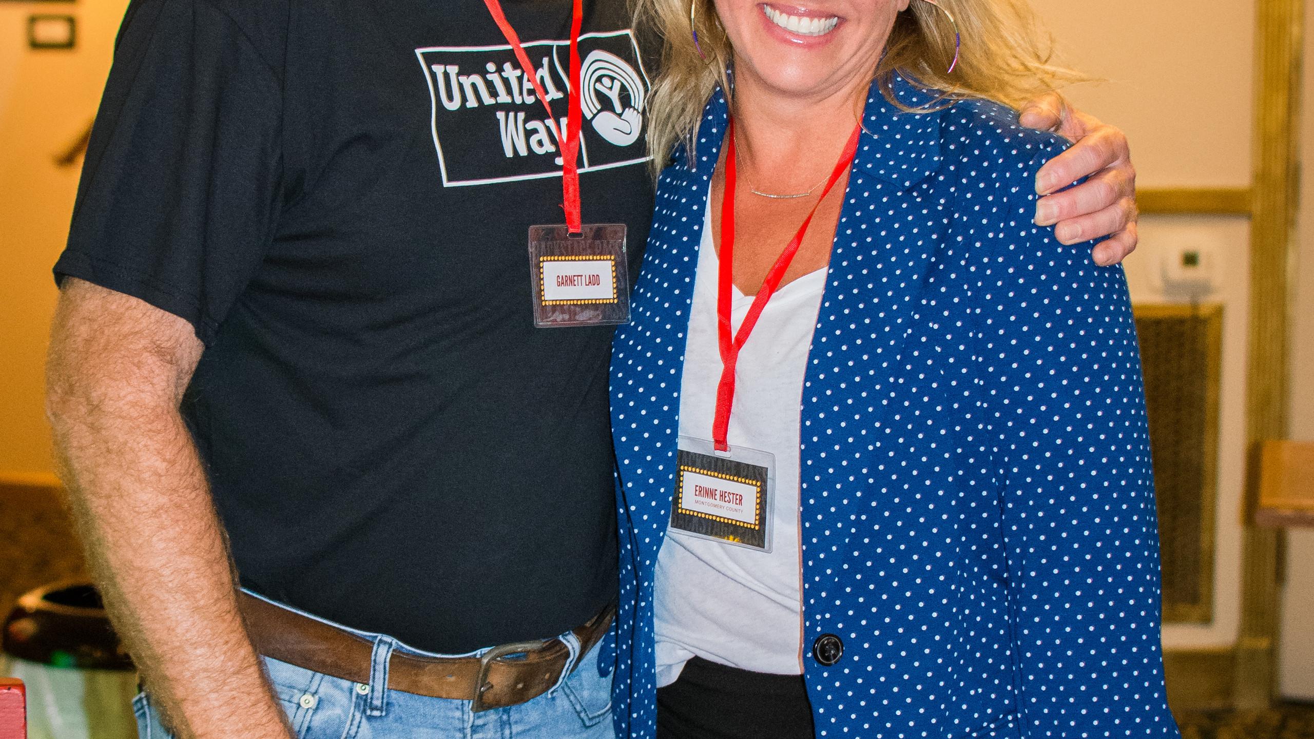 Garnett Ladd and Erinne Hester