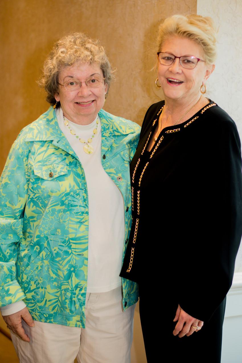 Marcia Till and Sherri harvill