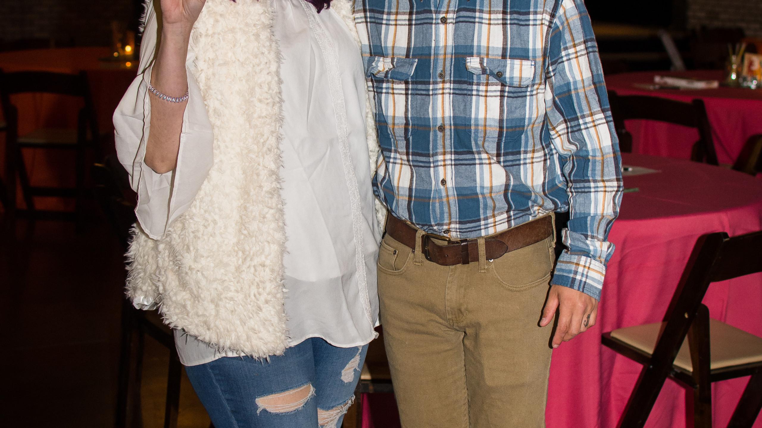 Abby and Jordan Wilkin