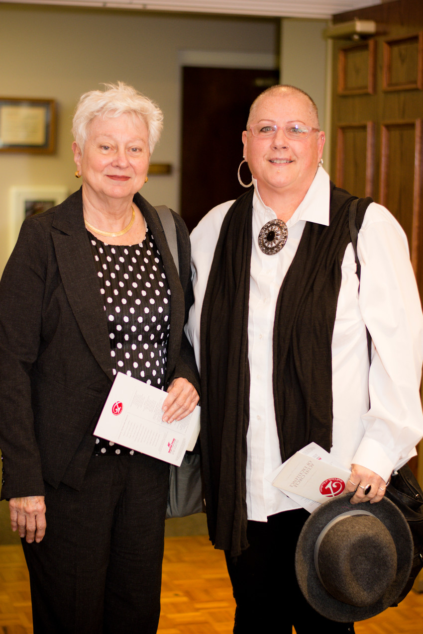 Leah Foote and Glenda Rohner