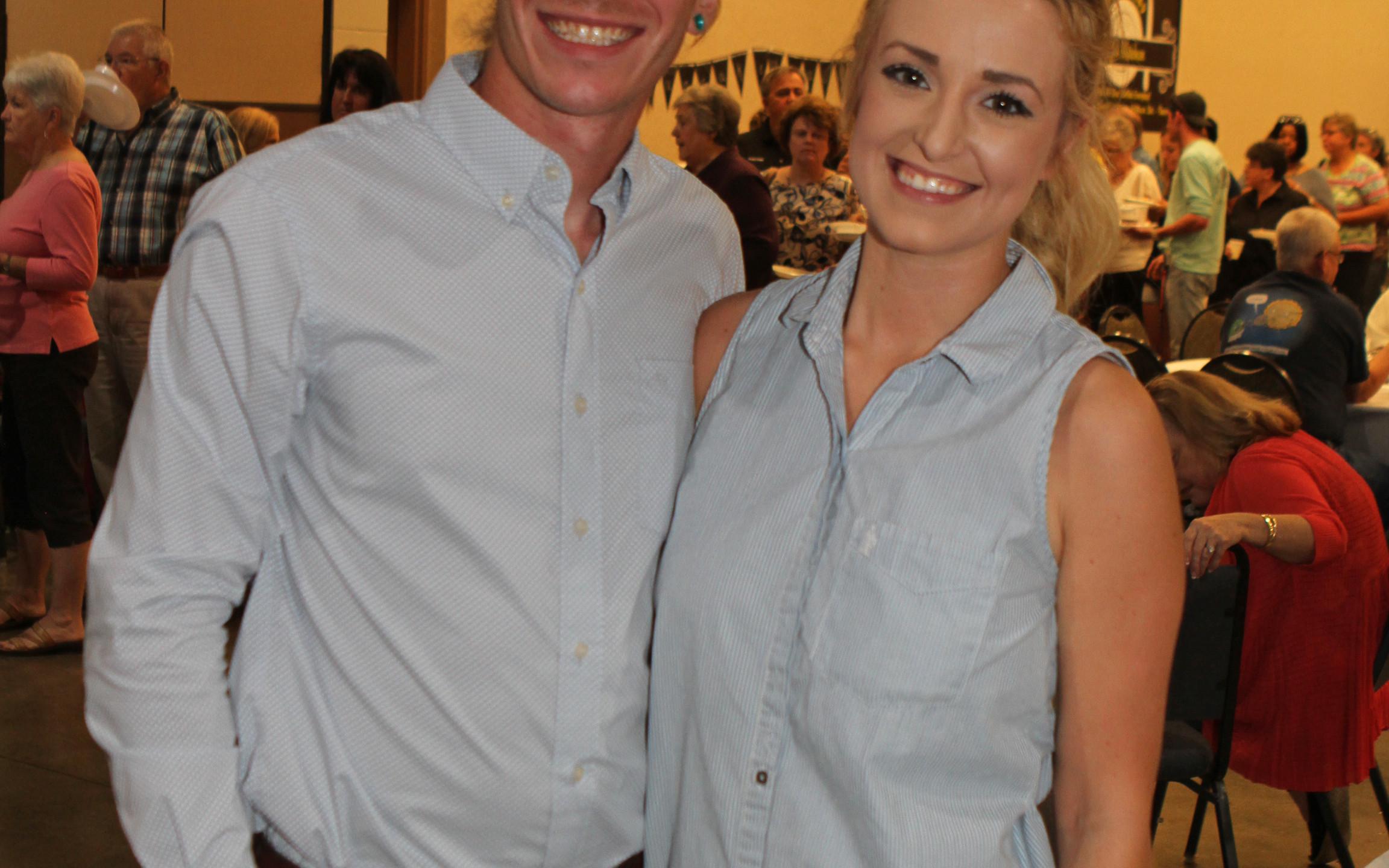 Dustin & Stephanie Frazier