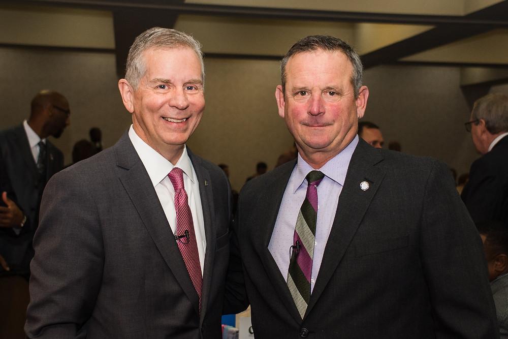 City Mayor Joe Pitts & County Mayor Jim Durrett