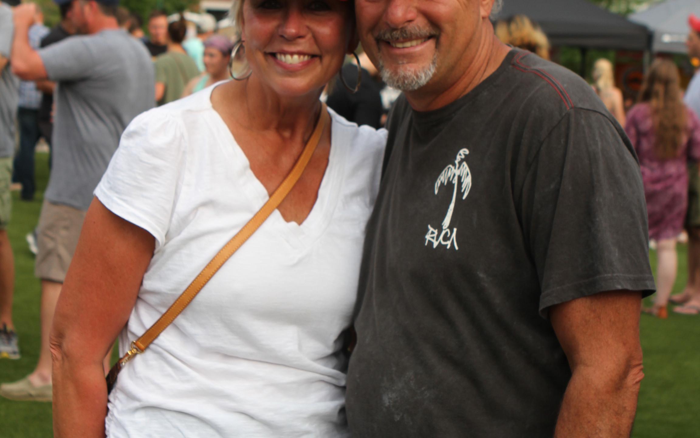 Sarah and Billy Covington
