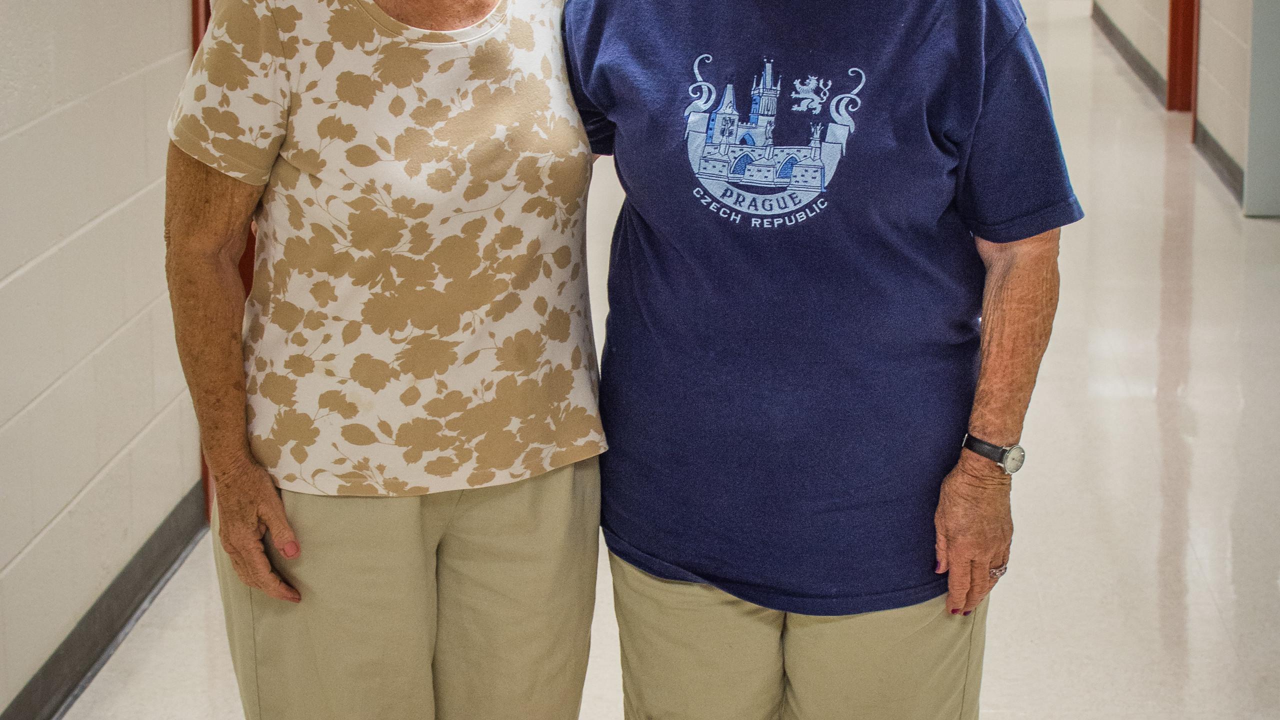 Carol Dodenhoff and Betsy Williams