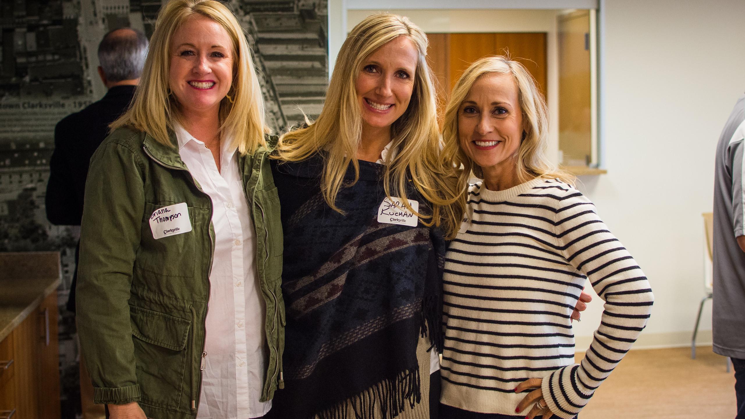 Brianna Thompson, Sarah Kuchan, and Moll