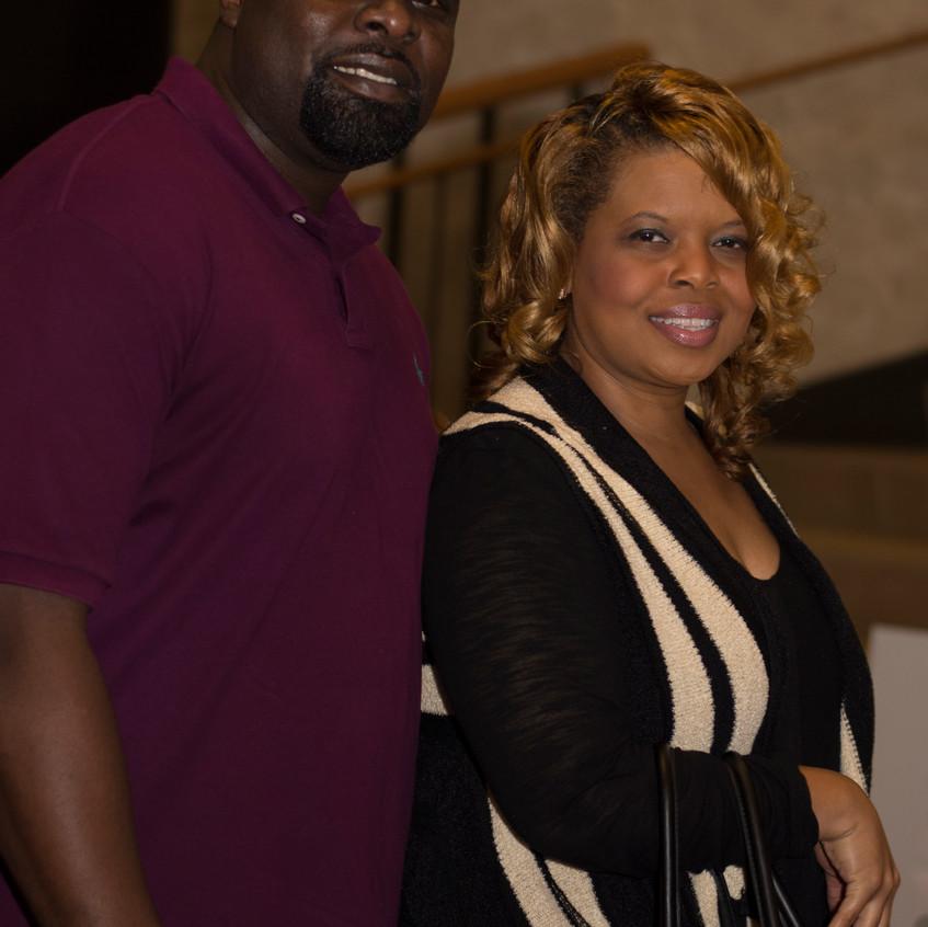 Kechia Jones and Tim cason