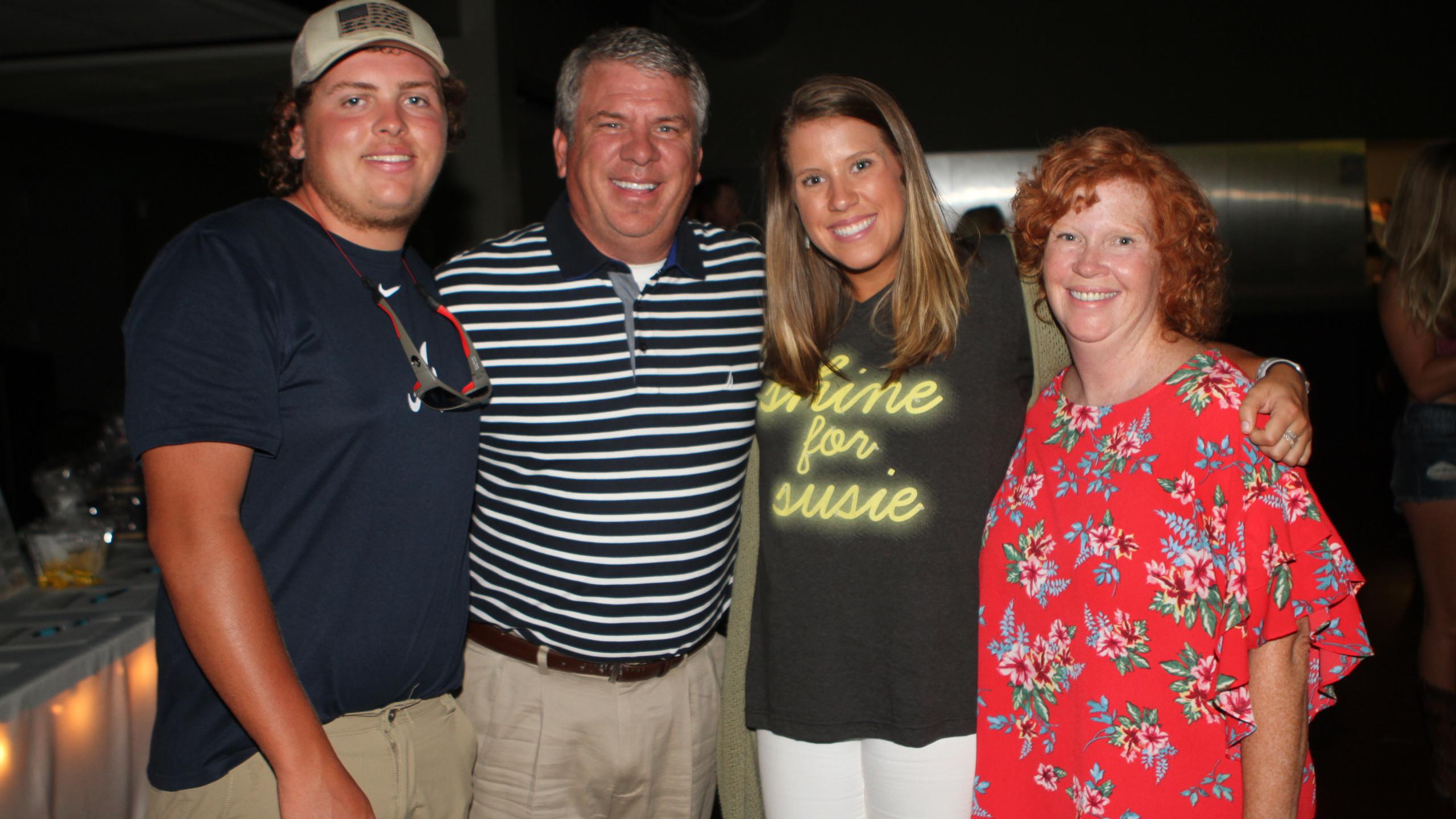 Hunter, Bob, Elizabeth & Mary Beth Belvi