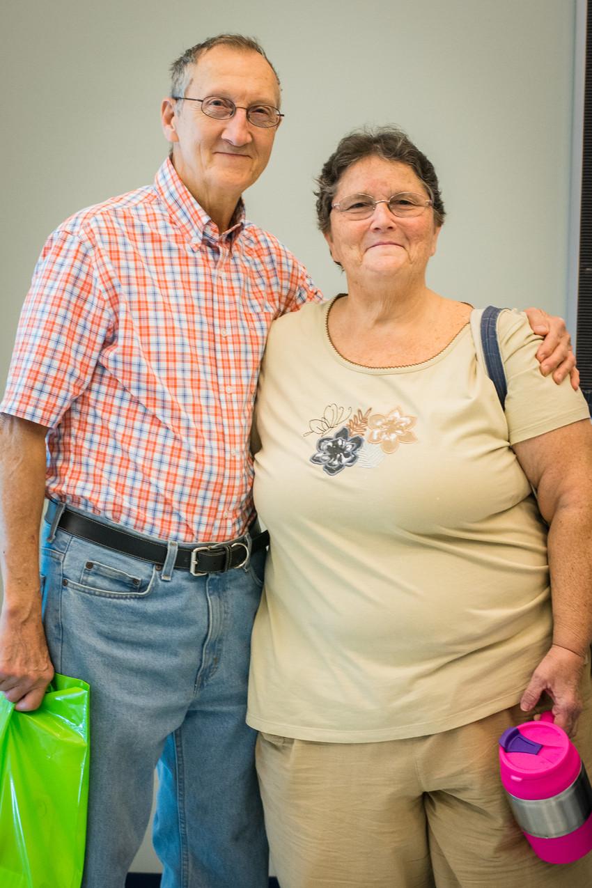 Larry and Ellen Kryder