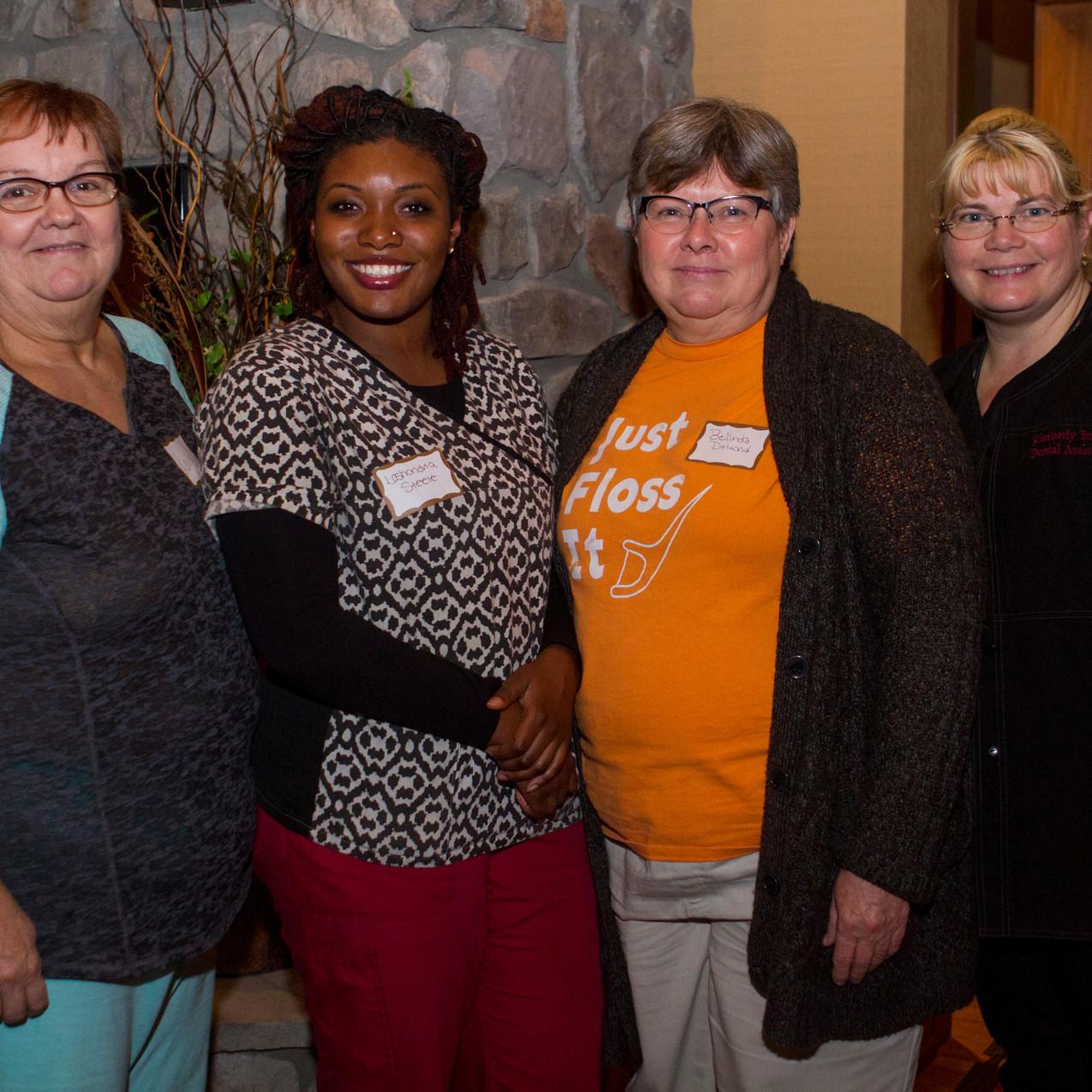 Leslie Kidd, Lashondria Steele, Belinda DeMond, Kimberly Barker