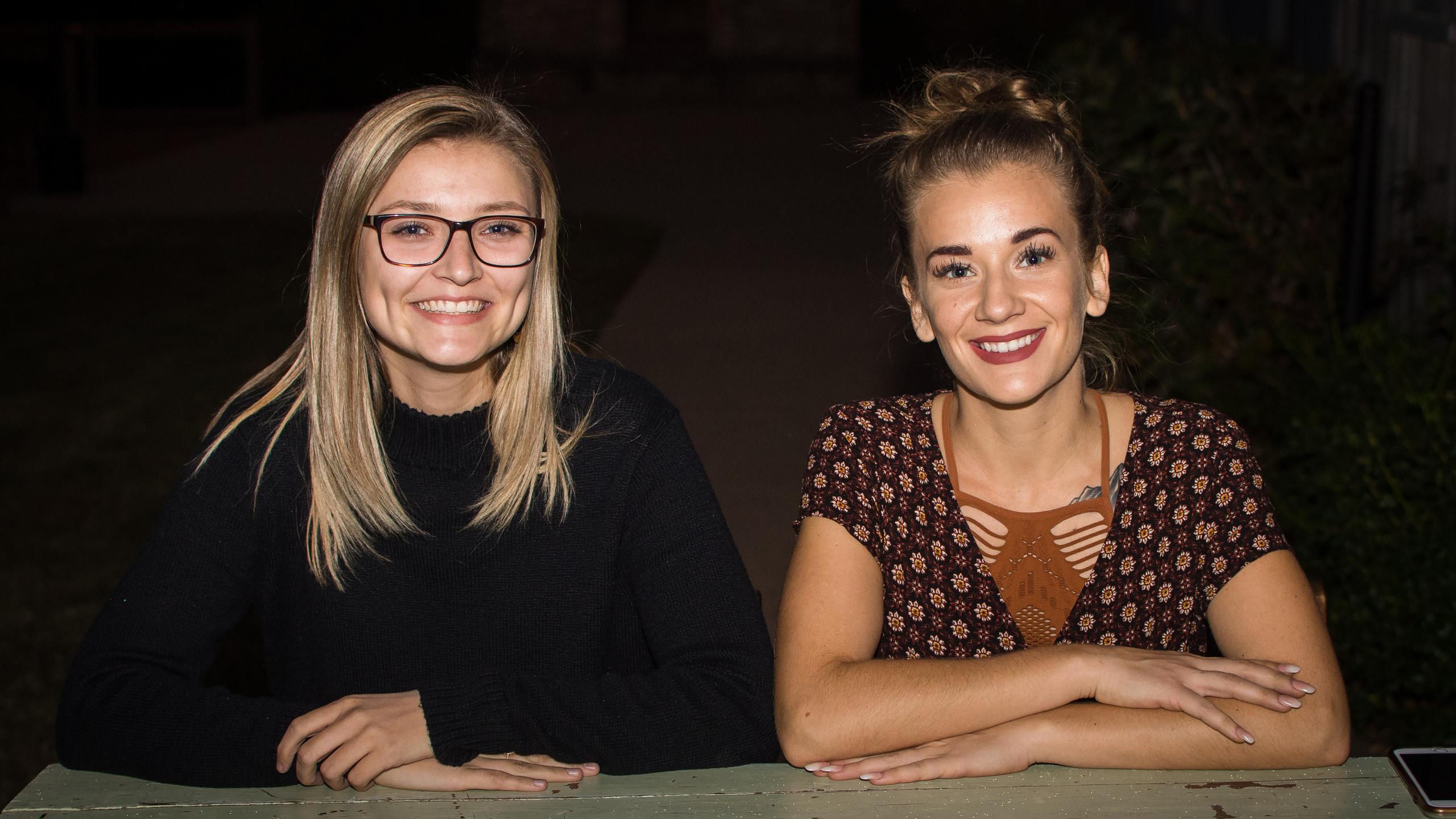 Shelby Ledgerwood and Amanda Shake