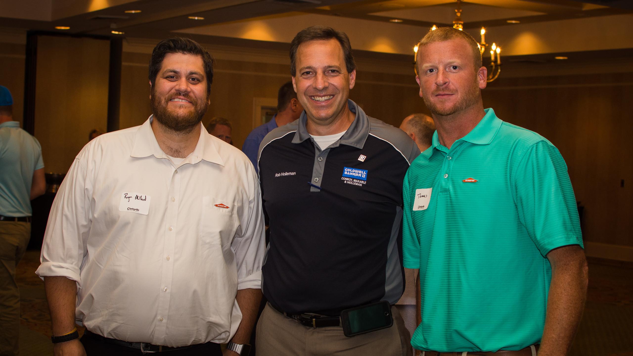 Ryan Millard, Rob Holleman, and Mr