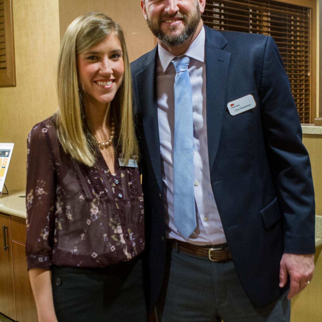 Jillian Nyquist, Chris Humphreys